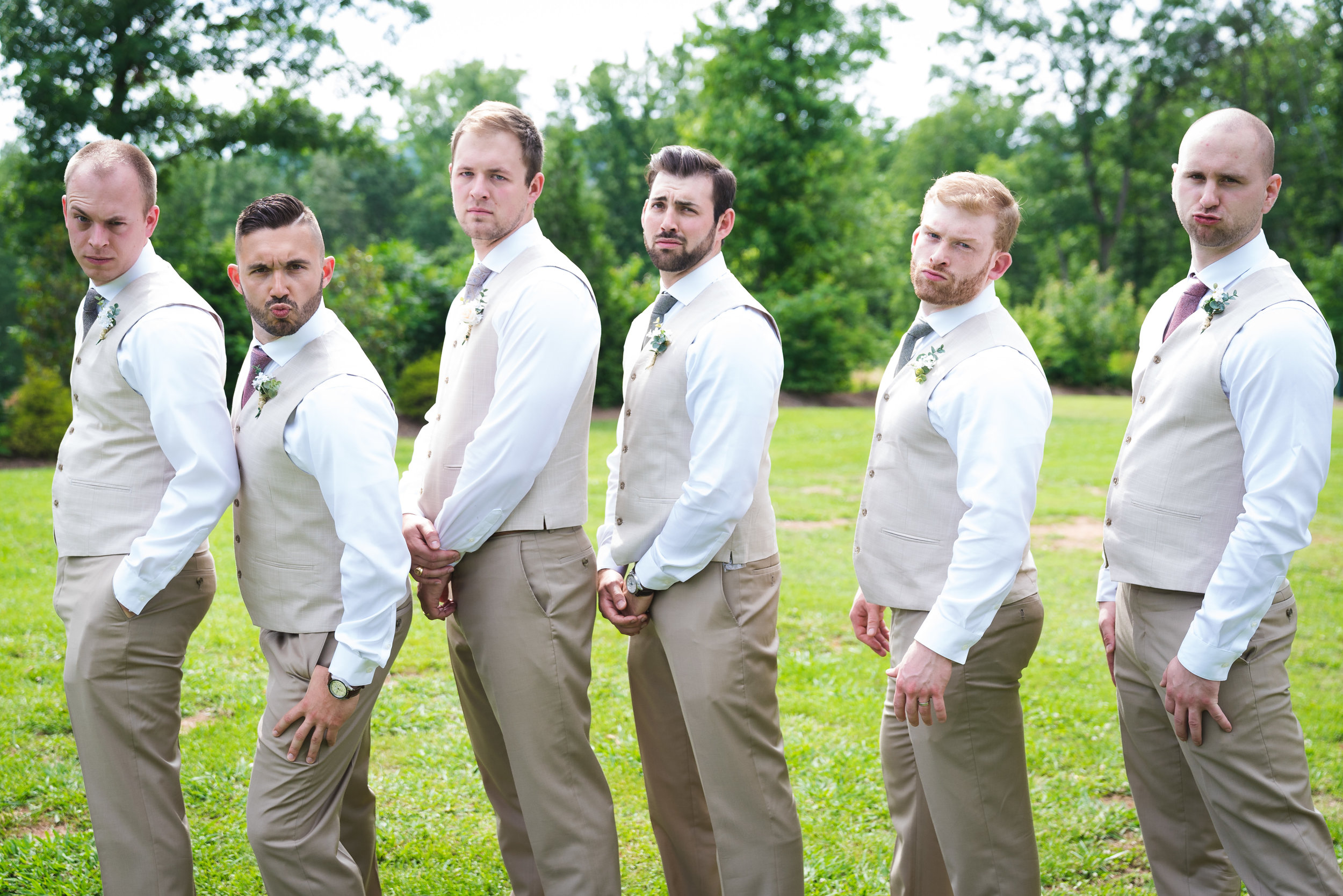 The groomsmen - Viewpoint at Buckhorn Creek | Greenville, SC