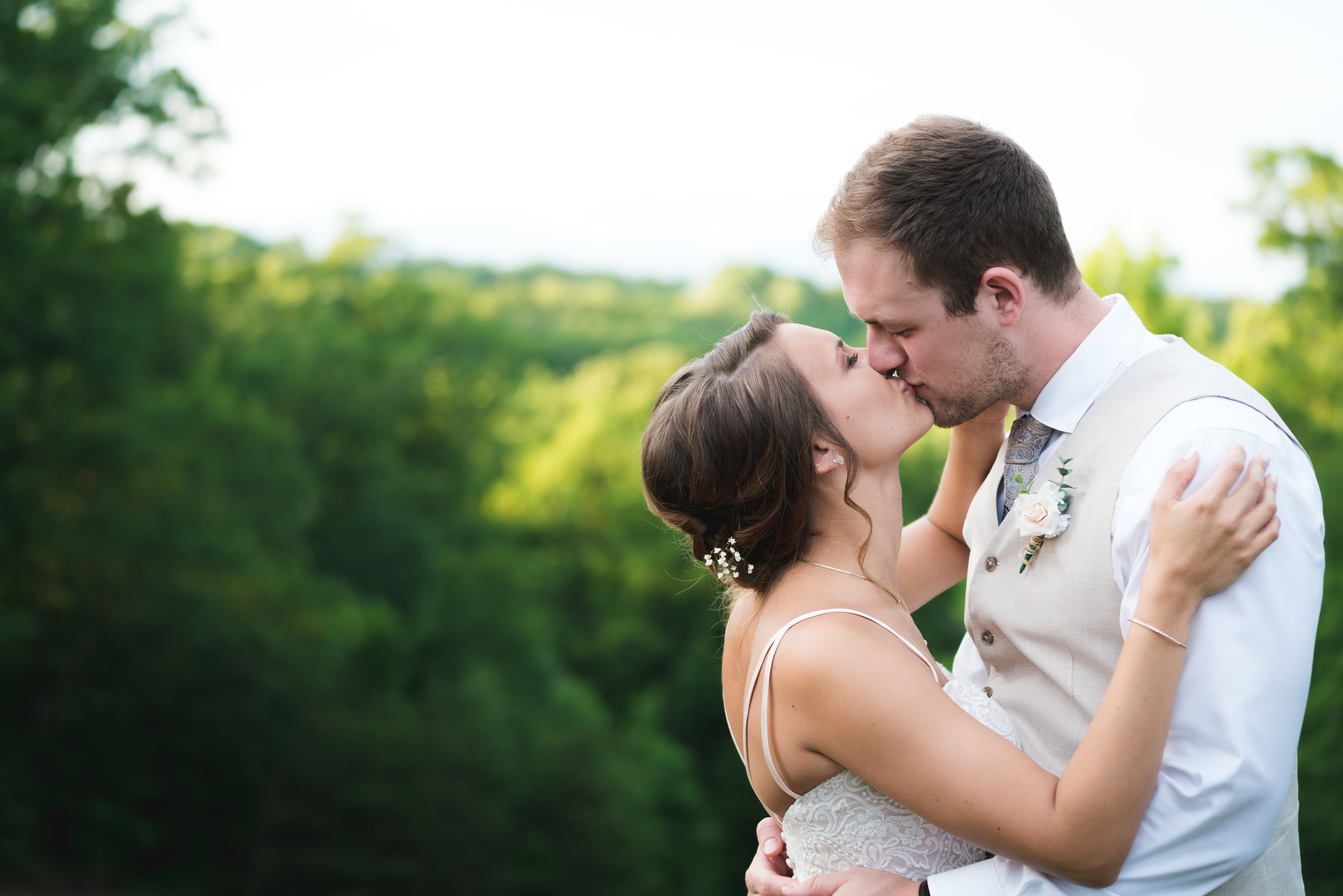 Bride and groom portrait - Viewpoint at Buckhorn Creek | Greenville, SC