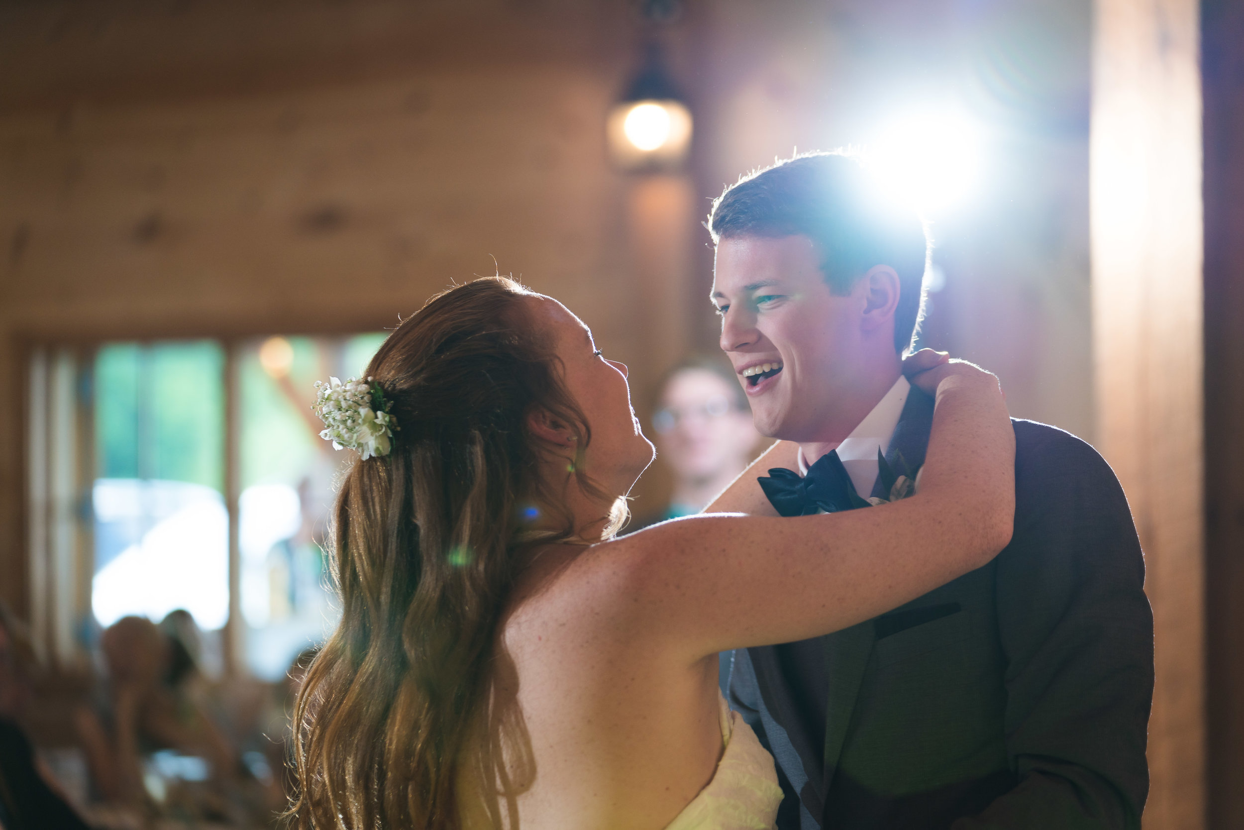 The first dance | Windy Hill Wedding and Event Barn in Simpsonville, SC
