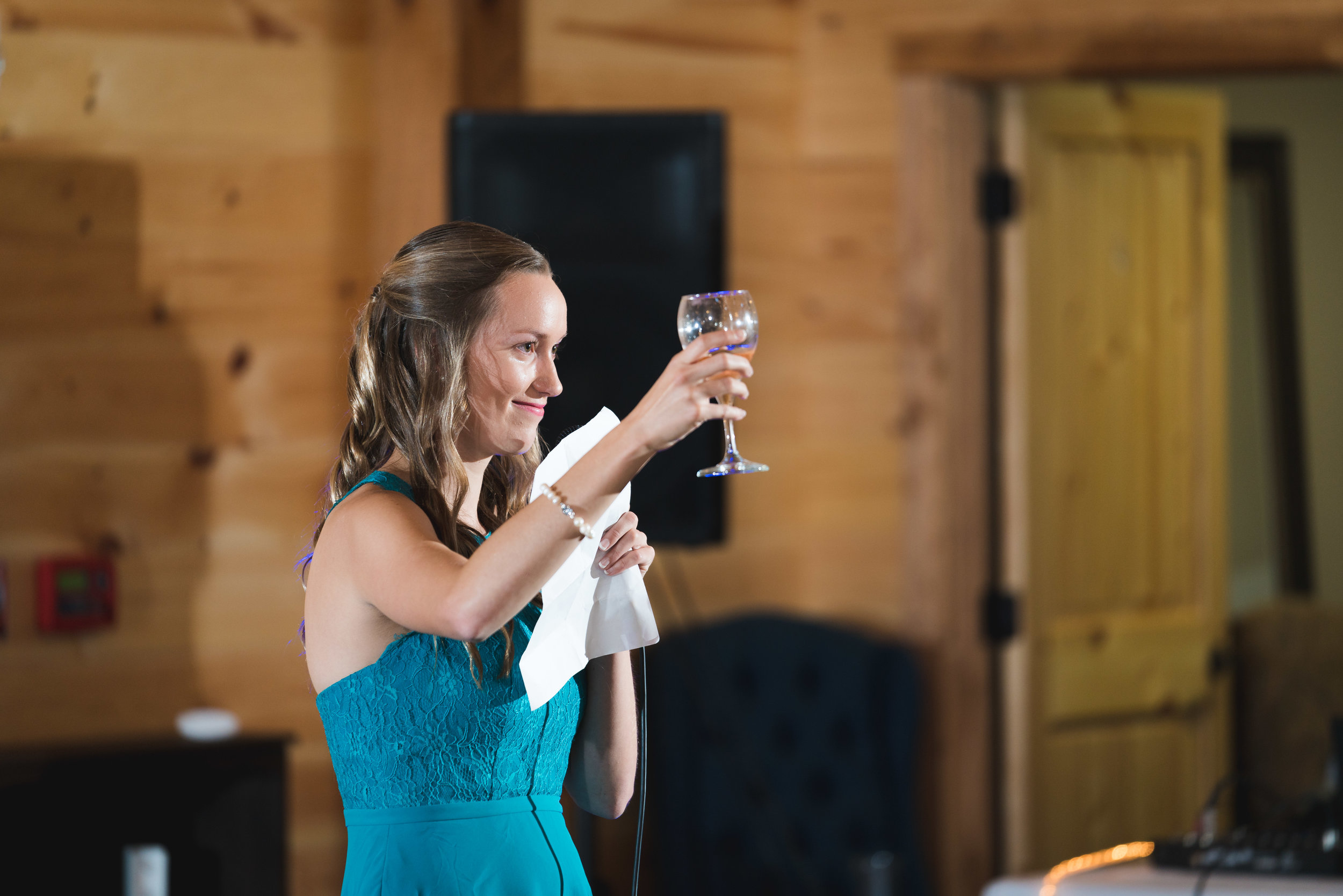 Maid of honor speech | Windy Hill Wedding and Event Barn in Simpsonville, SC