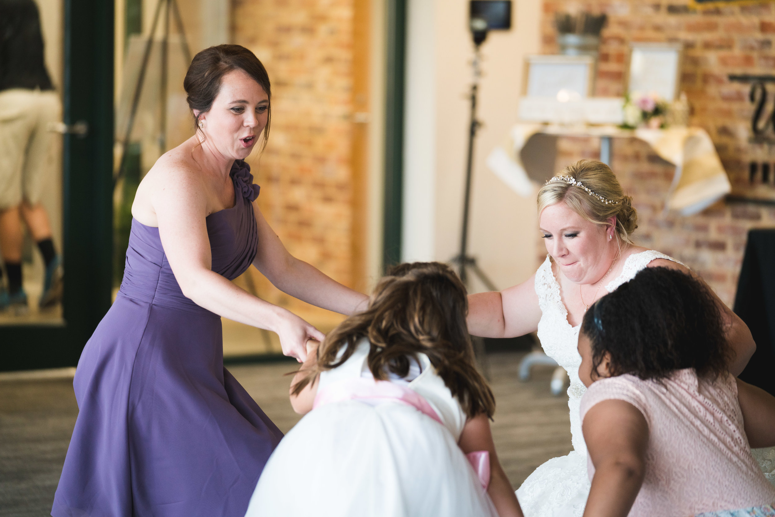 Dancing at Wedding at Flour Field | Downtown Greenville, SC