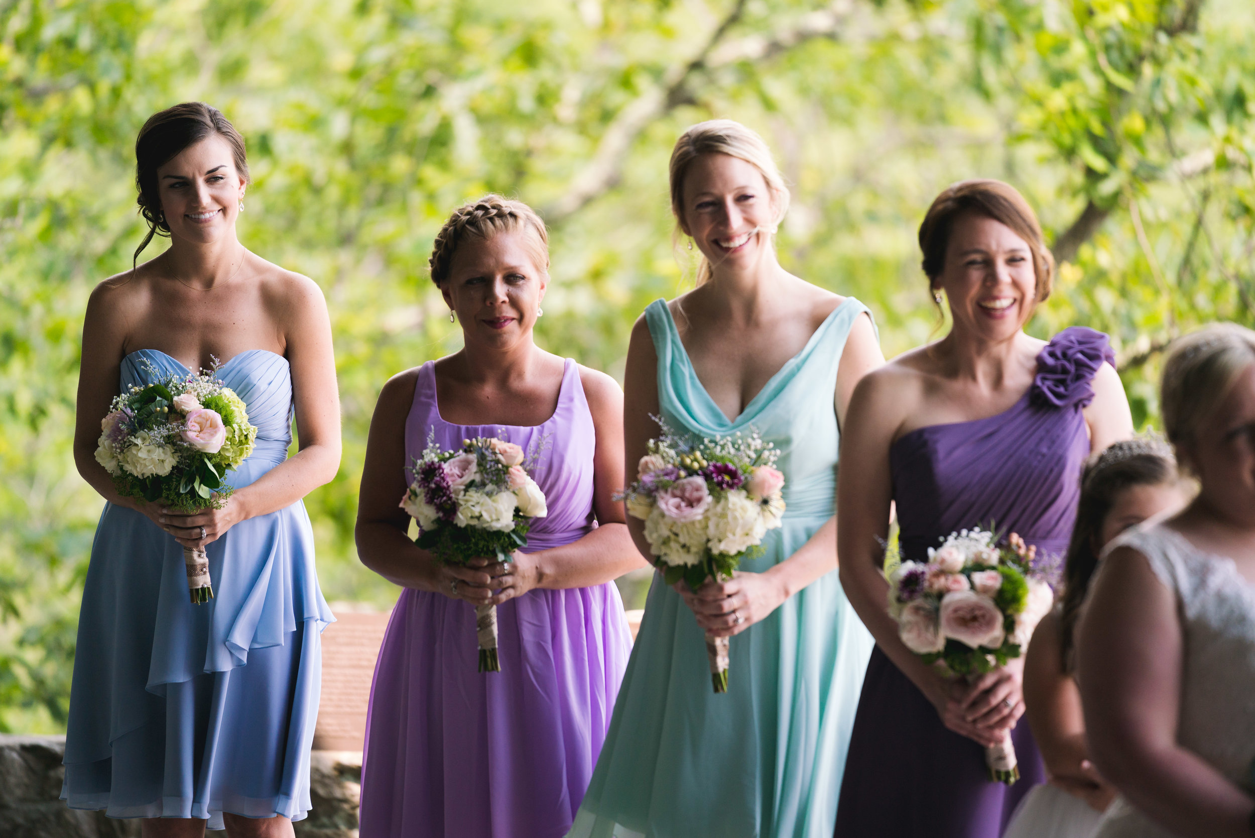 Bridesmaids at wedding | Pretty Place, SC