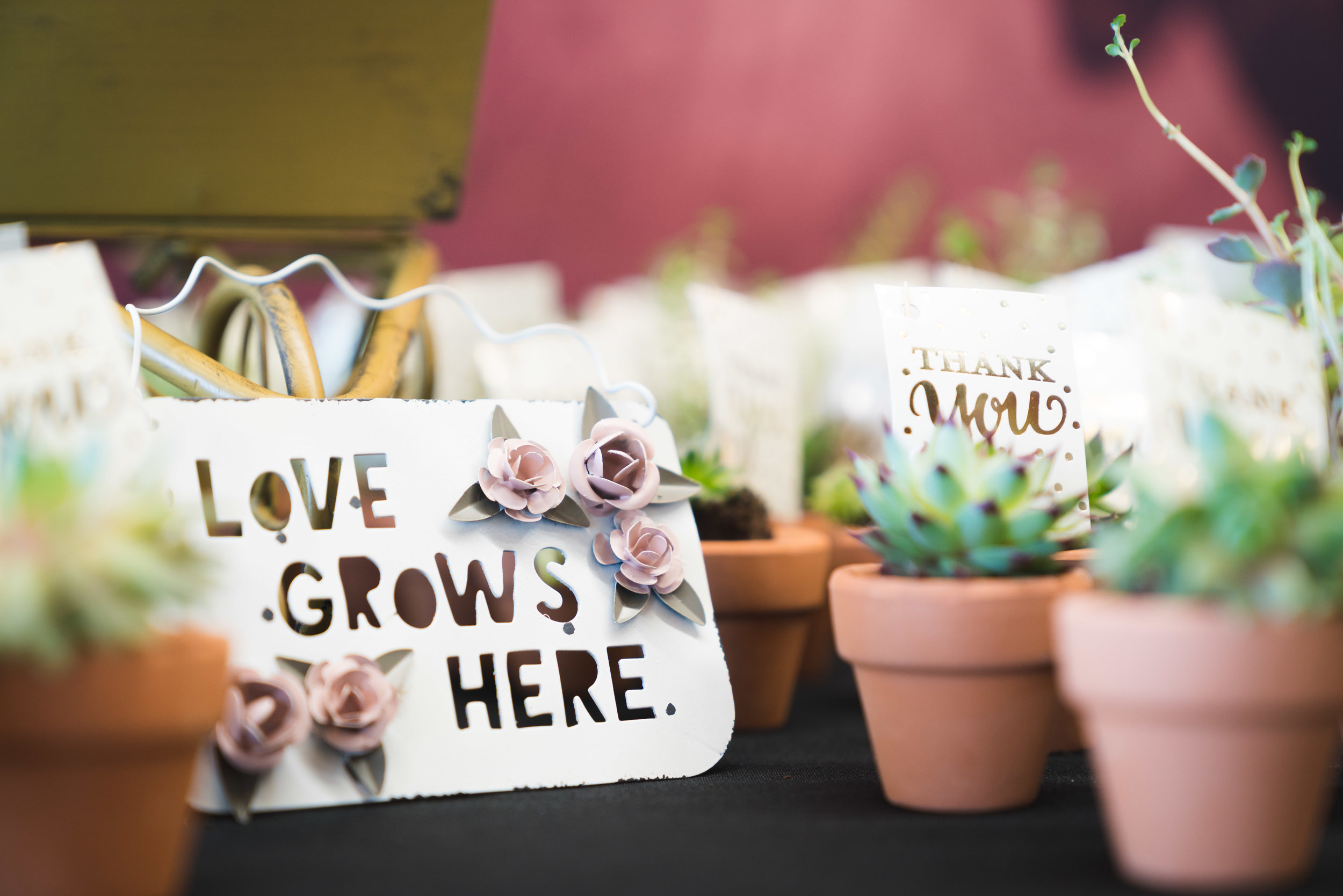 Wedding gifts | Flour Field Wedding in Downtown Greenville, SC