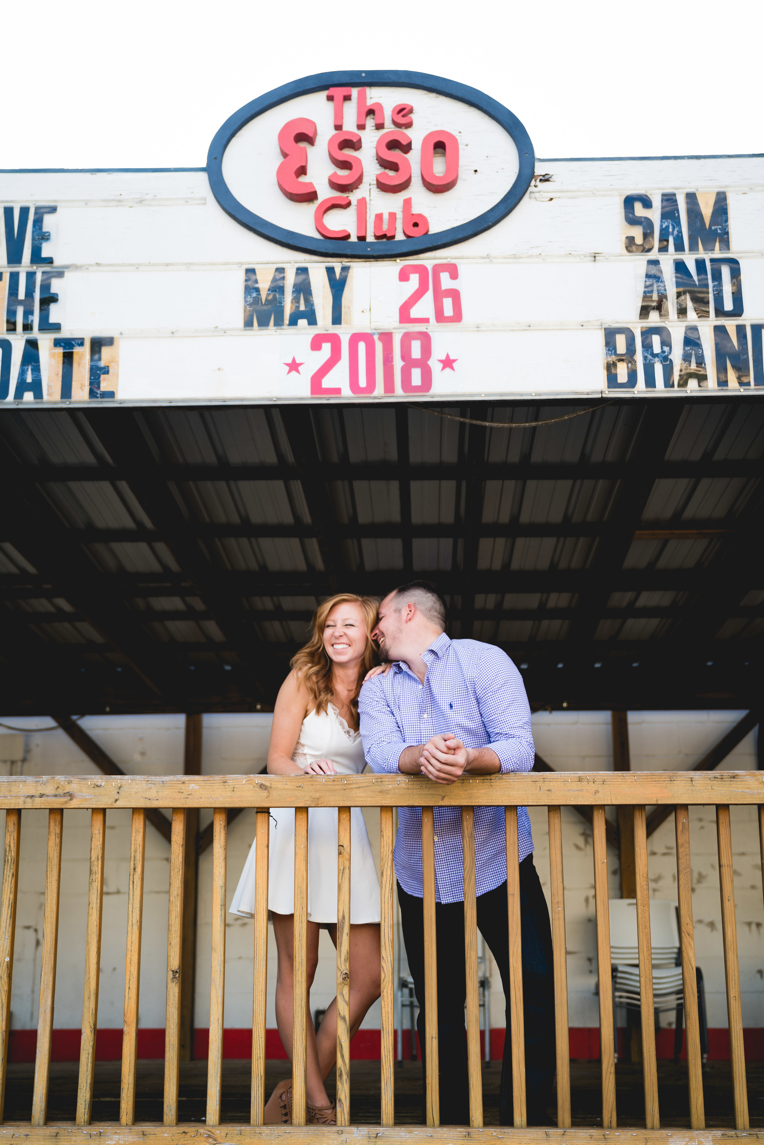 Save the dates | Engagement Session in Clemson SC