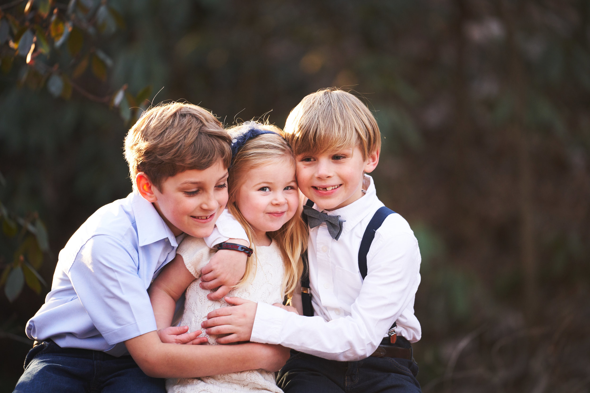 Siblings | Family Photo Session at the Clemson Botanical Gardens