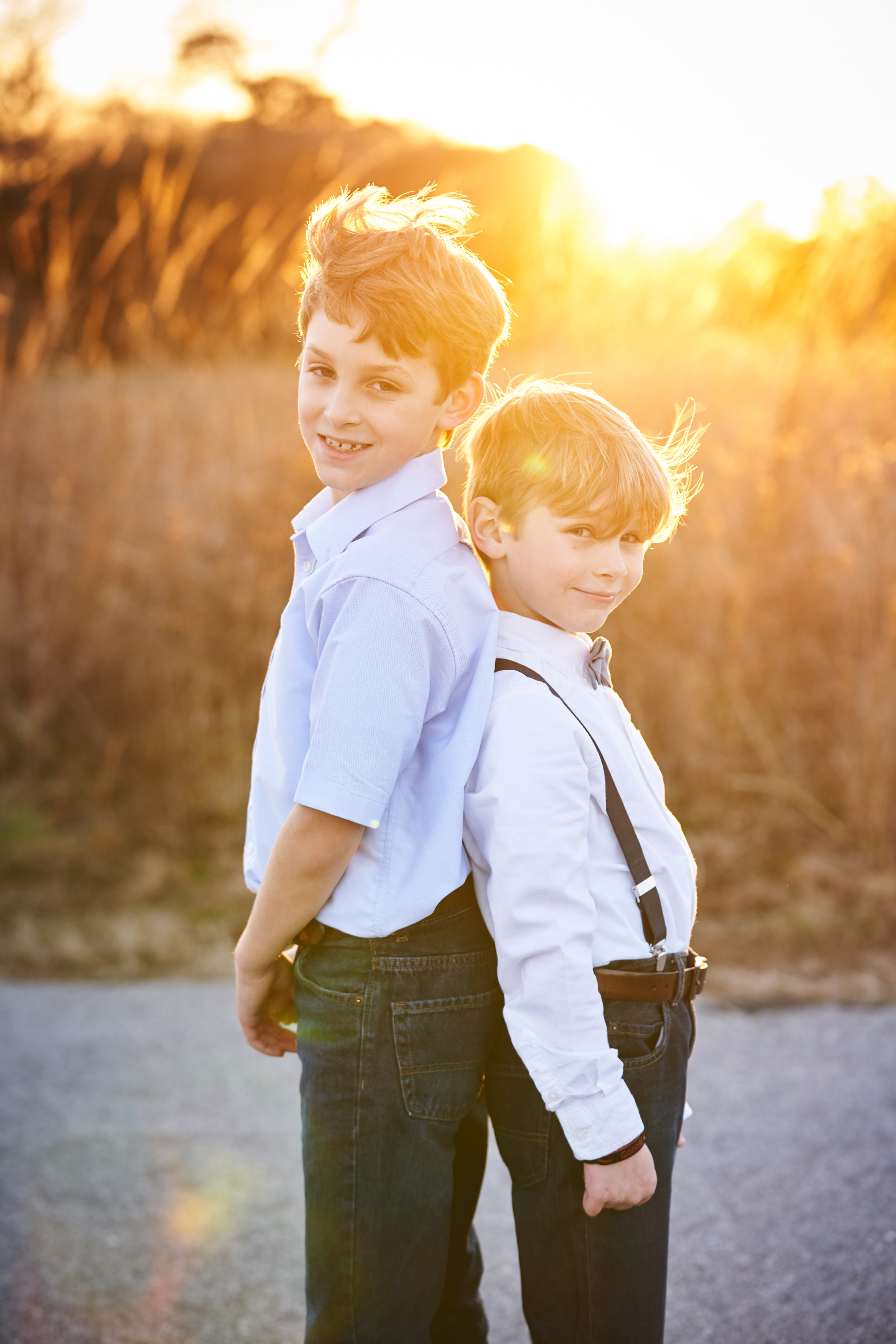 Boys of summer | Family Photo Session at the Clemson Botanical Gardens