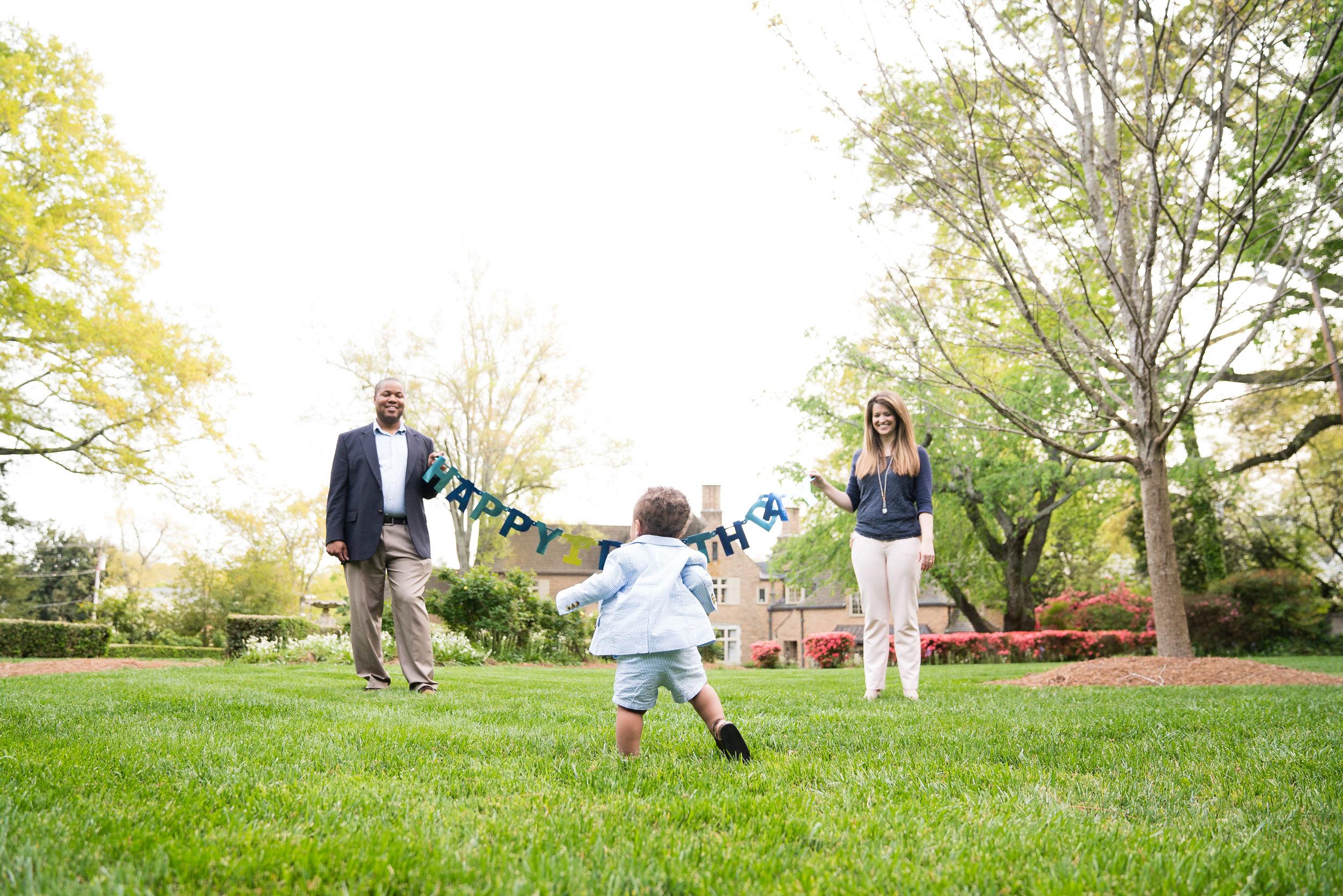Happy Birthday family session | Anderson University
