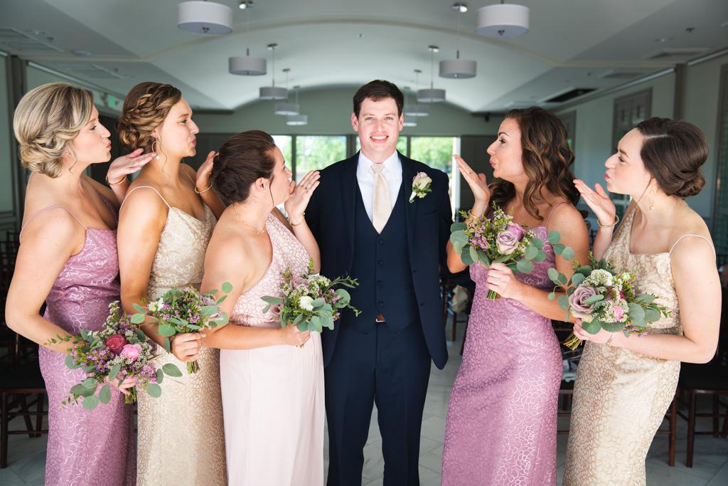 Julie + Chandler | Wedding at Noah's Event Venue in Greenville, SC