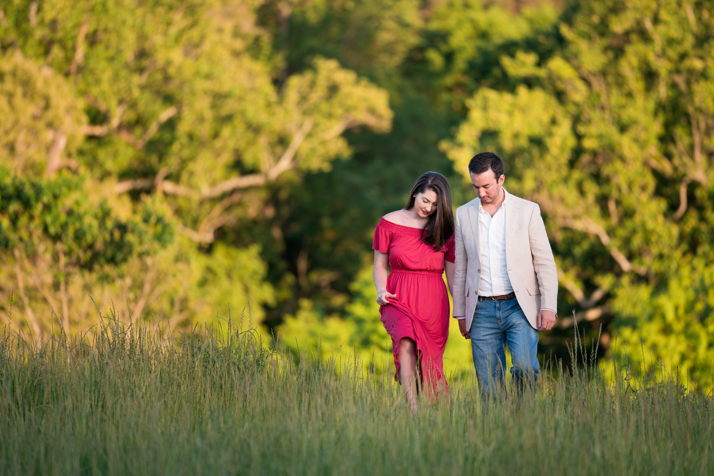 Engagement Session in Clemson, SC