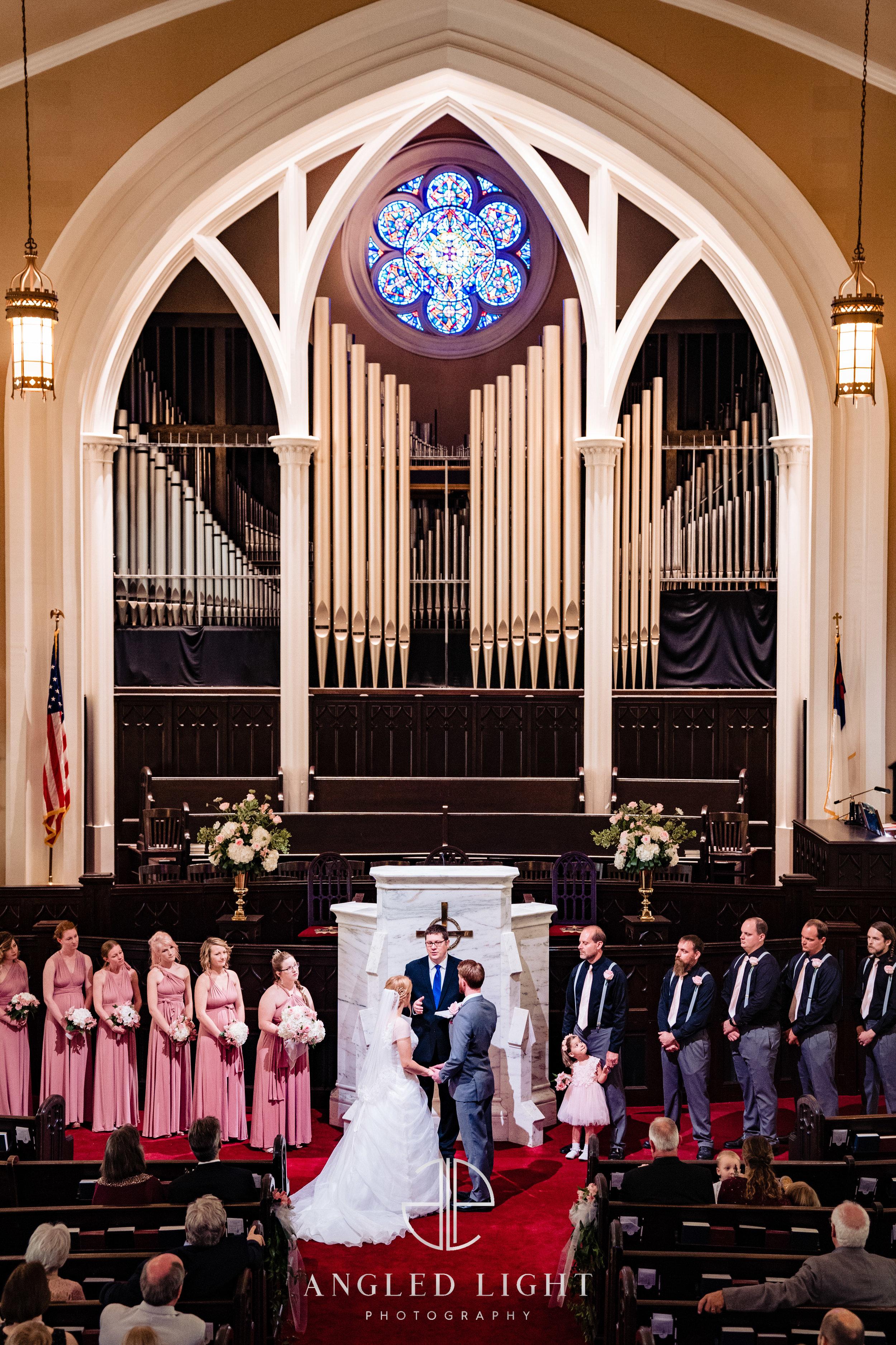 Julie + Mark | First Presbyterian Church Columbia, SC