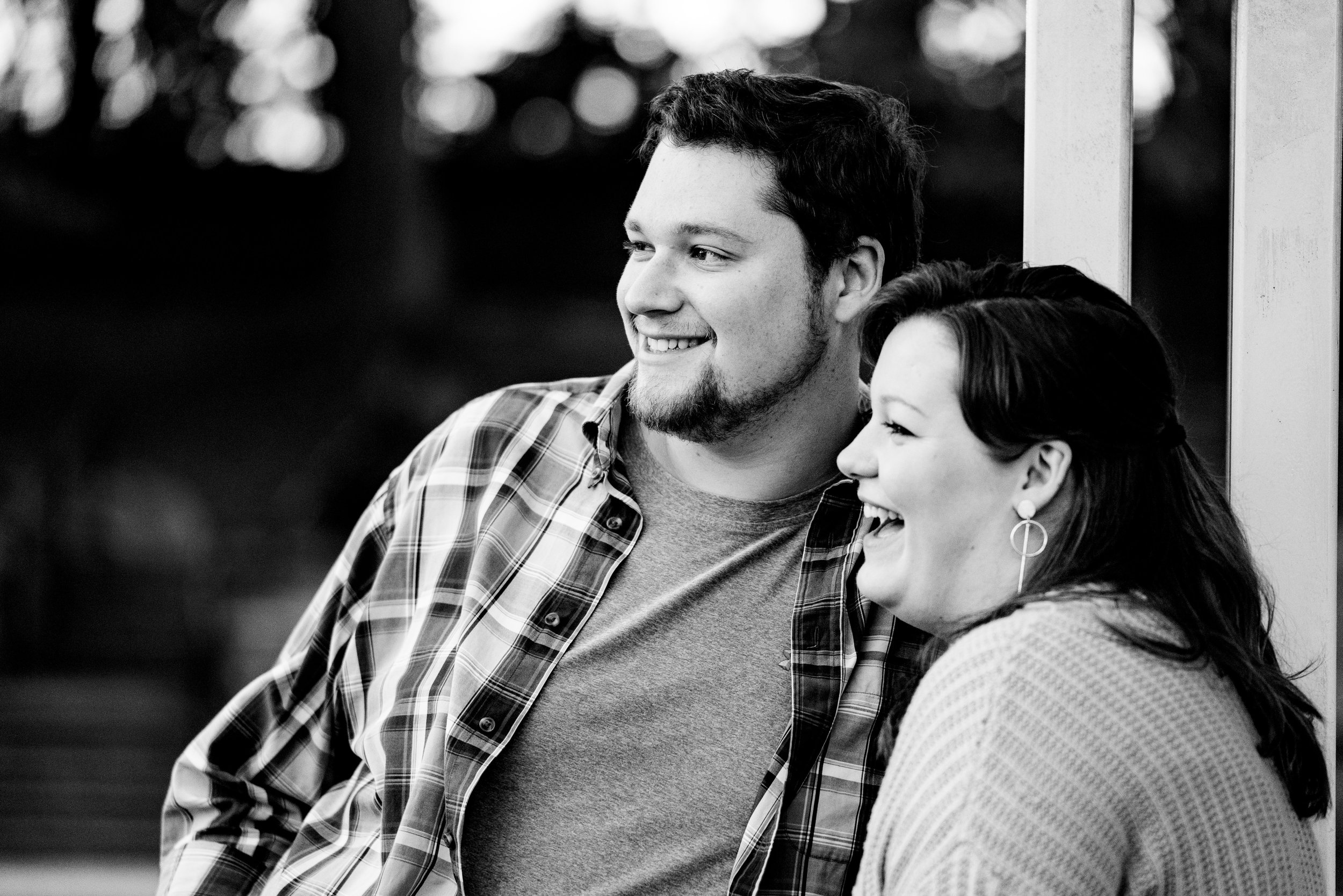 Kaitlyn + Zane | Engagement Session in Downtown Greer, SC