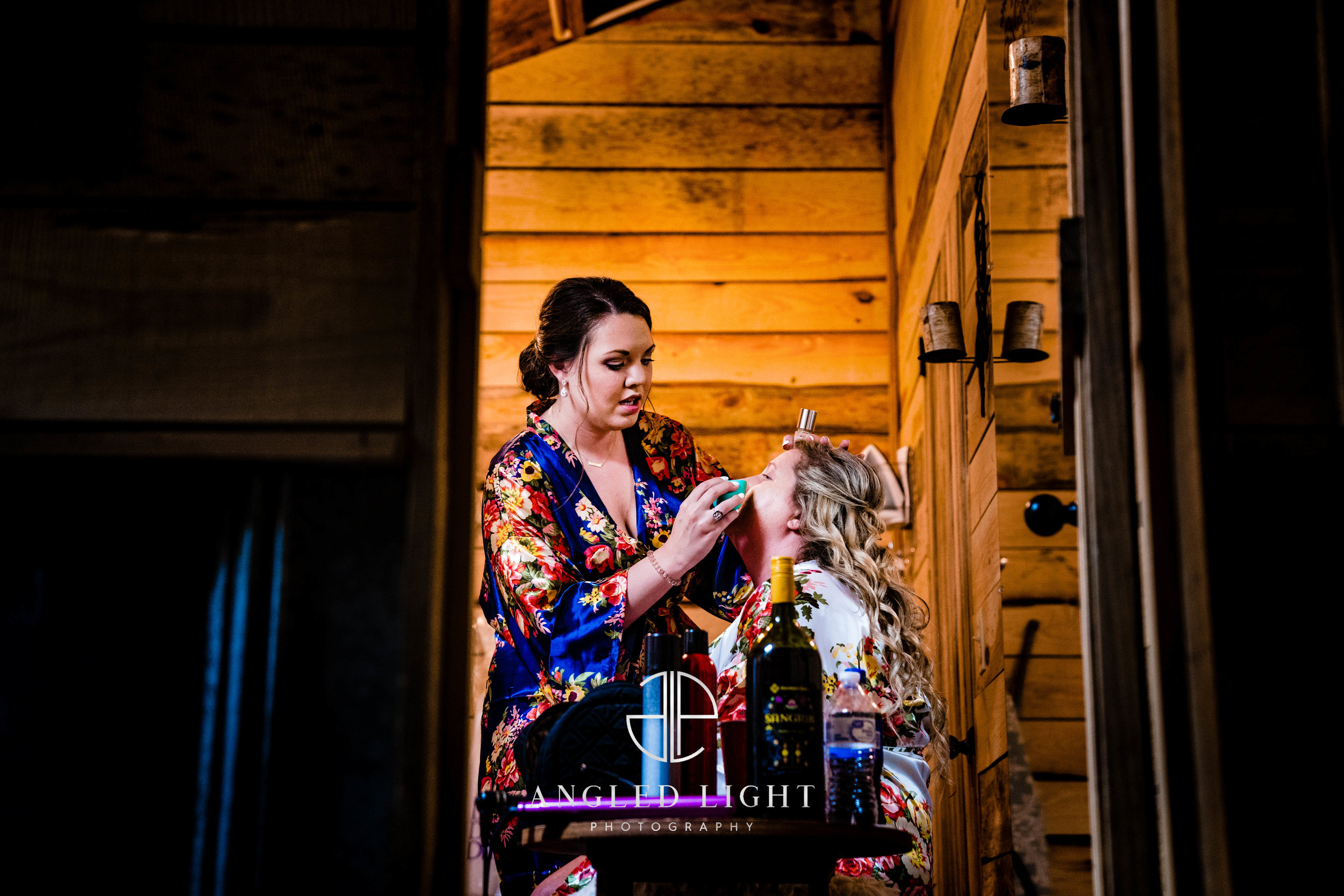 Bride Getting Ready | The Barn at Greene Acres