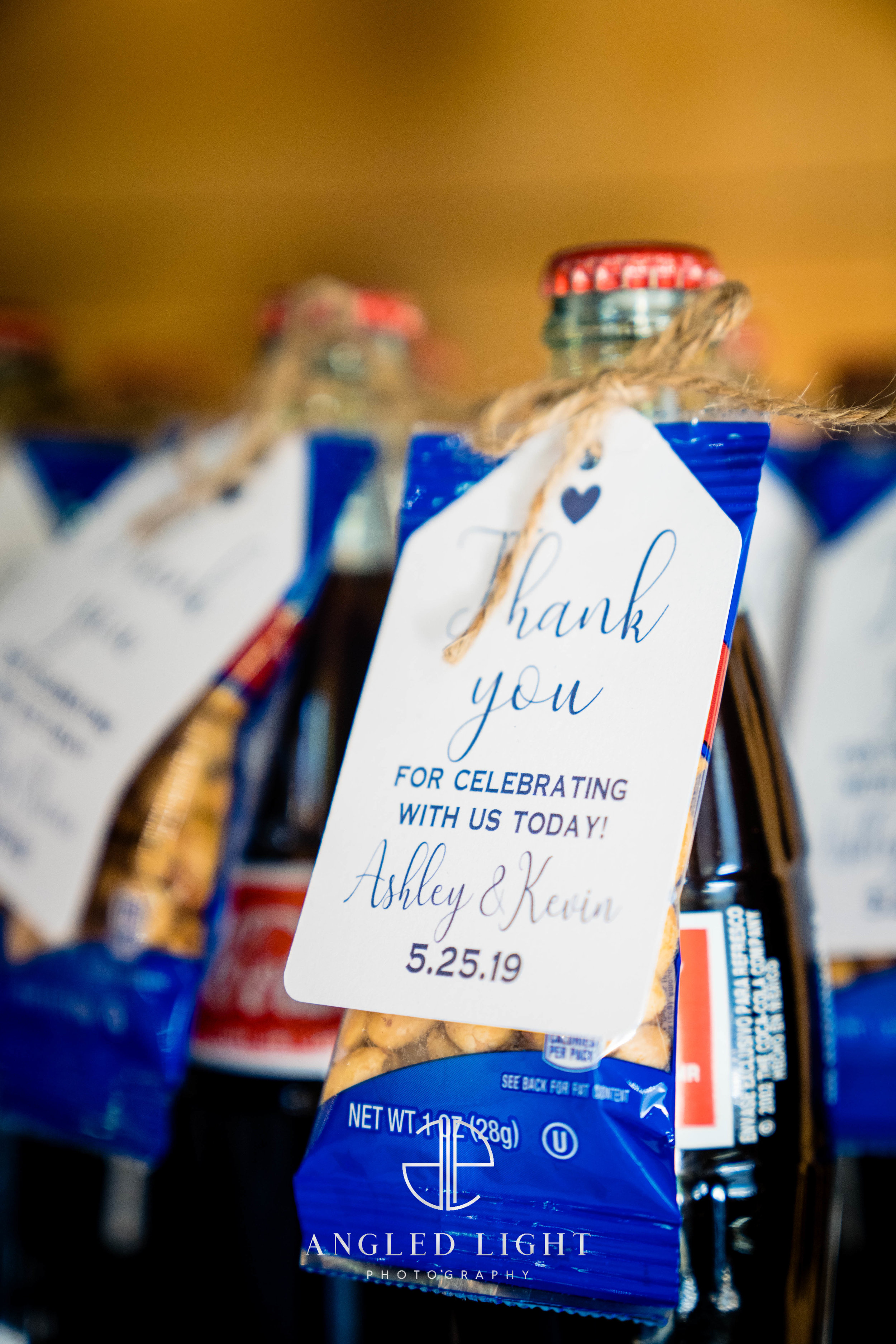 Wedding favors  | The Barn at Greene Acres in Honea Path, SC