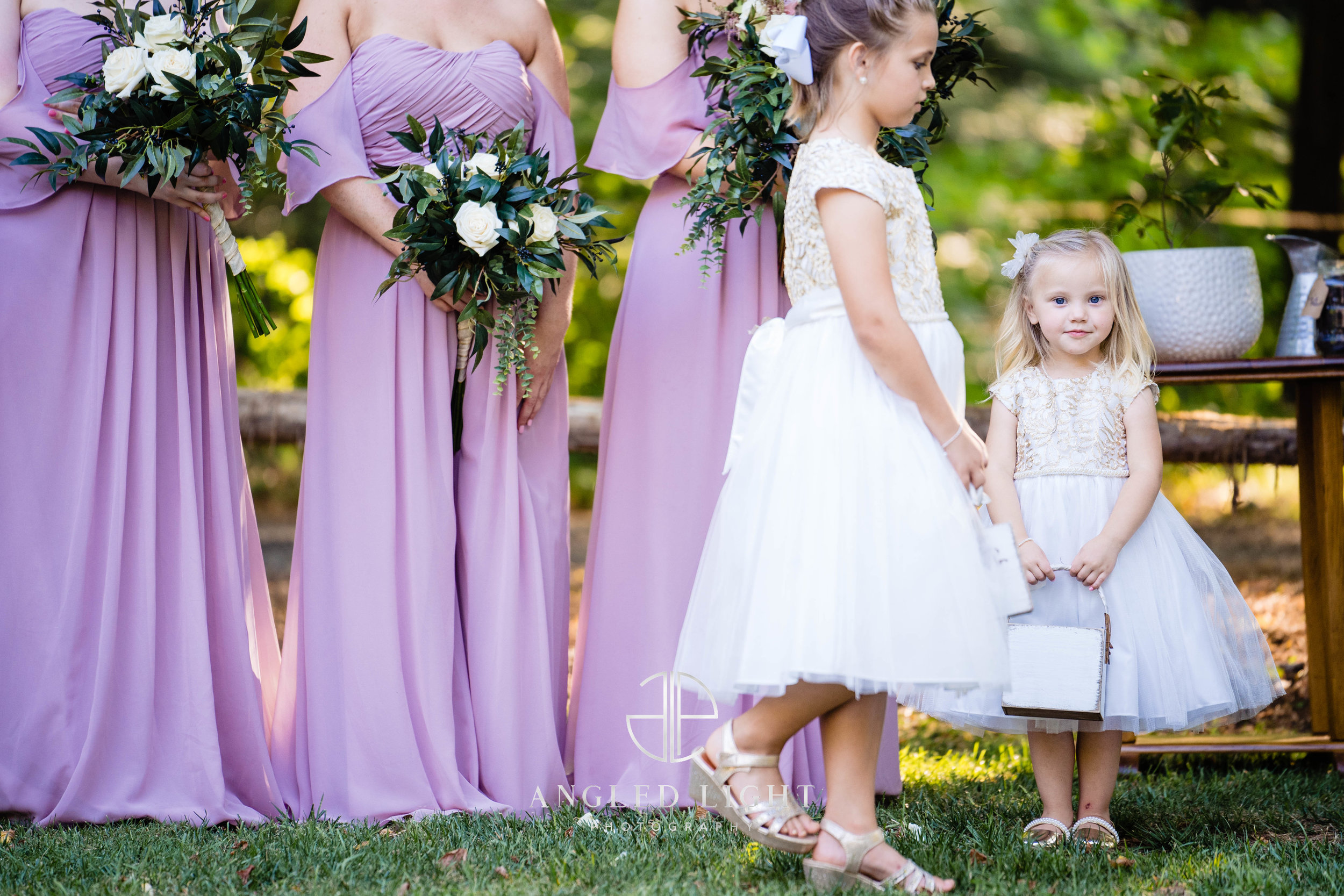 The flower girl | The Barn at Greene Acres in Honea Path, SC
