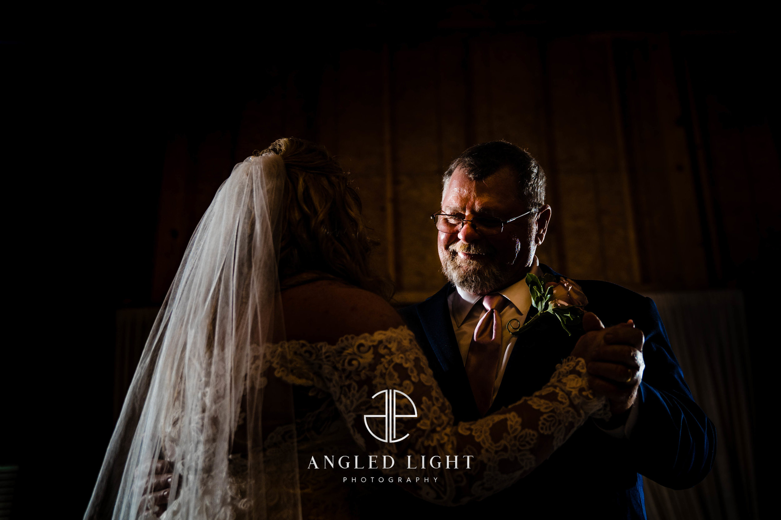 Bride and father dance | The Barn at Greene Acres in Honea Path, SC