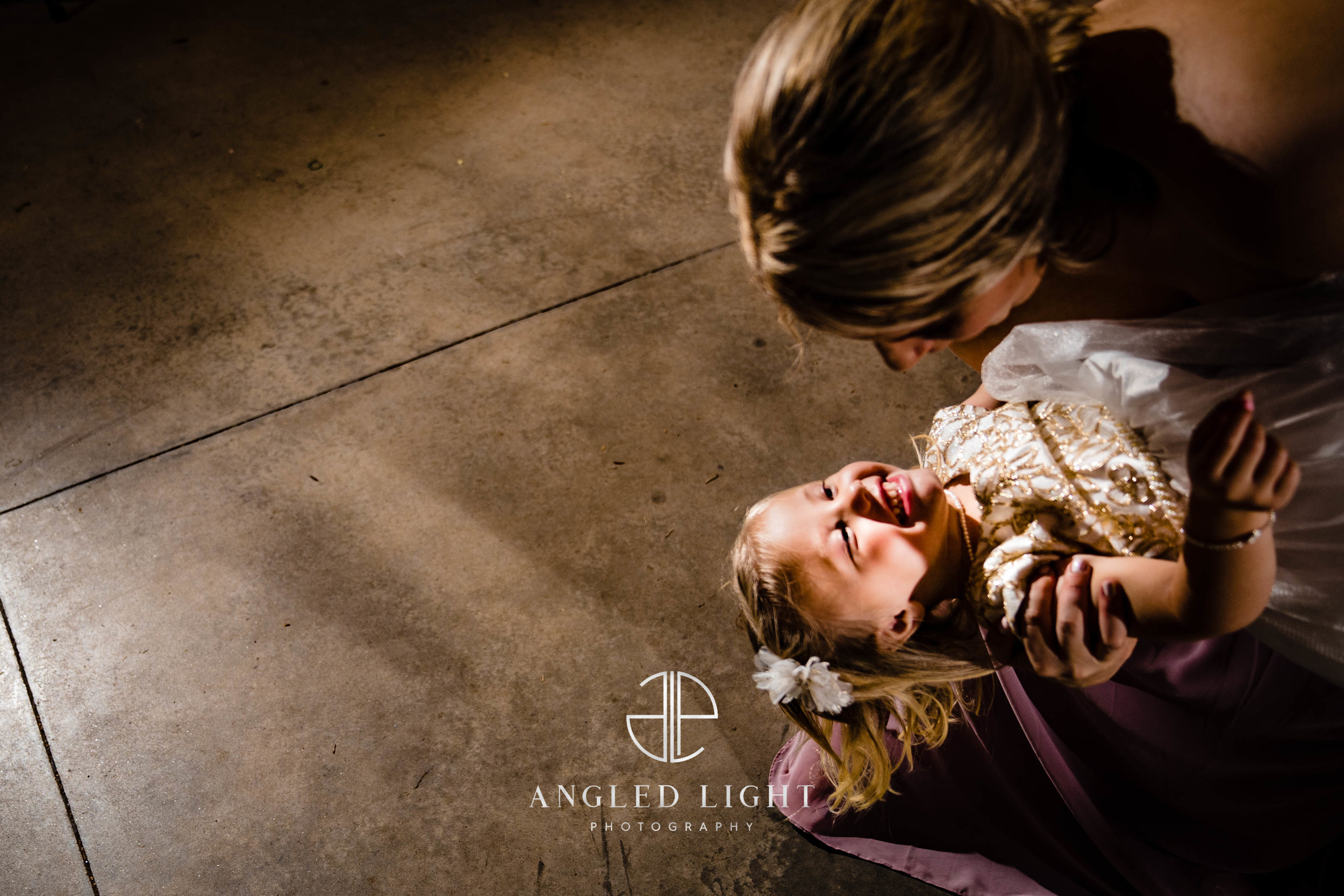 Flower girl dancing | The Barn at Greene Acres in Honea Path, SC