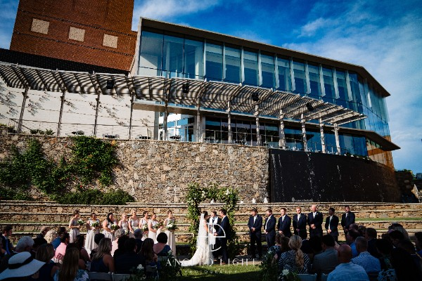 Wedding at the Peace Center Downtown Greenville SC