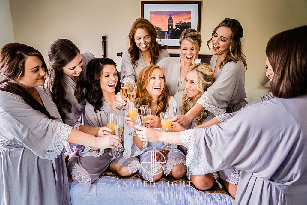 Bride and Bridesmaids | Clemson SC
