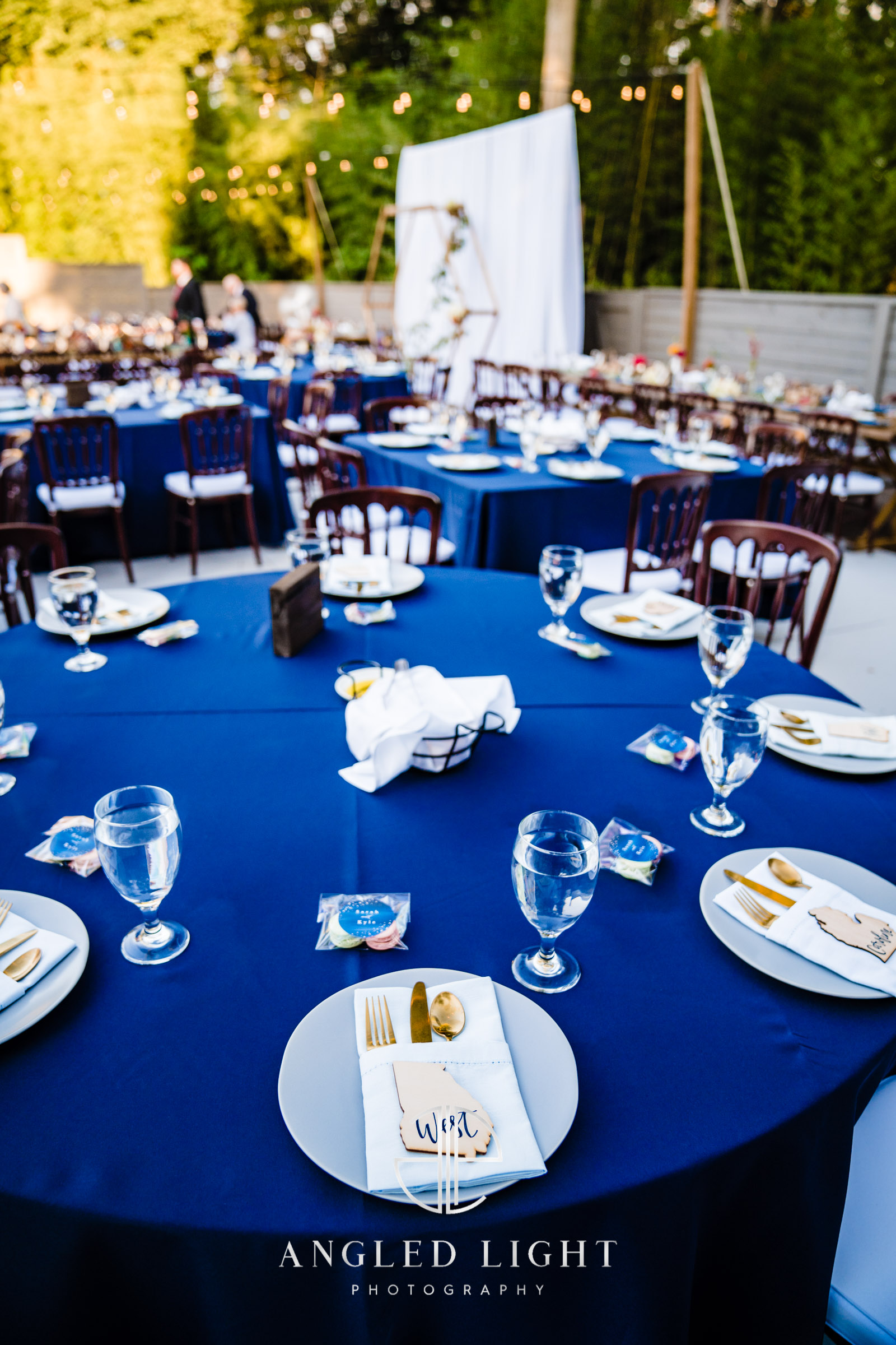 The Rutherford Greenville SC | Dinner set up