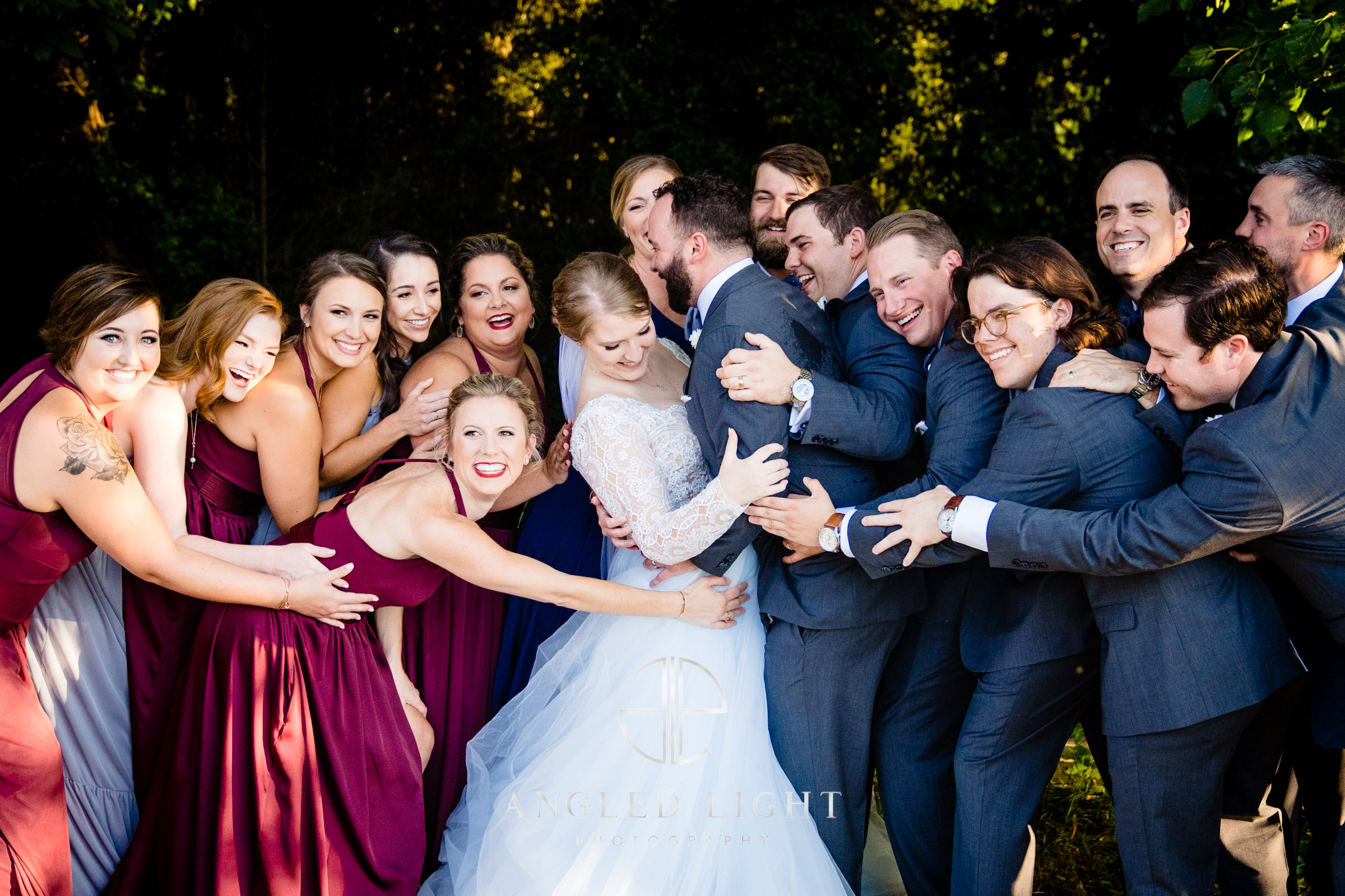 The Wedding Party | Angled Light Photography