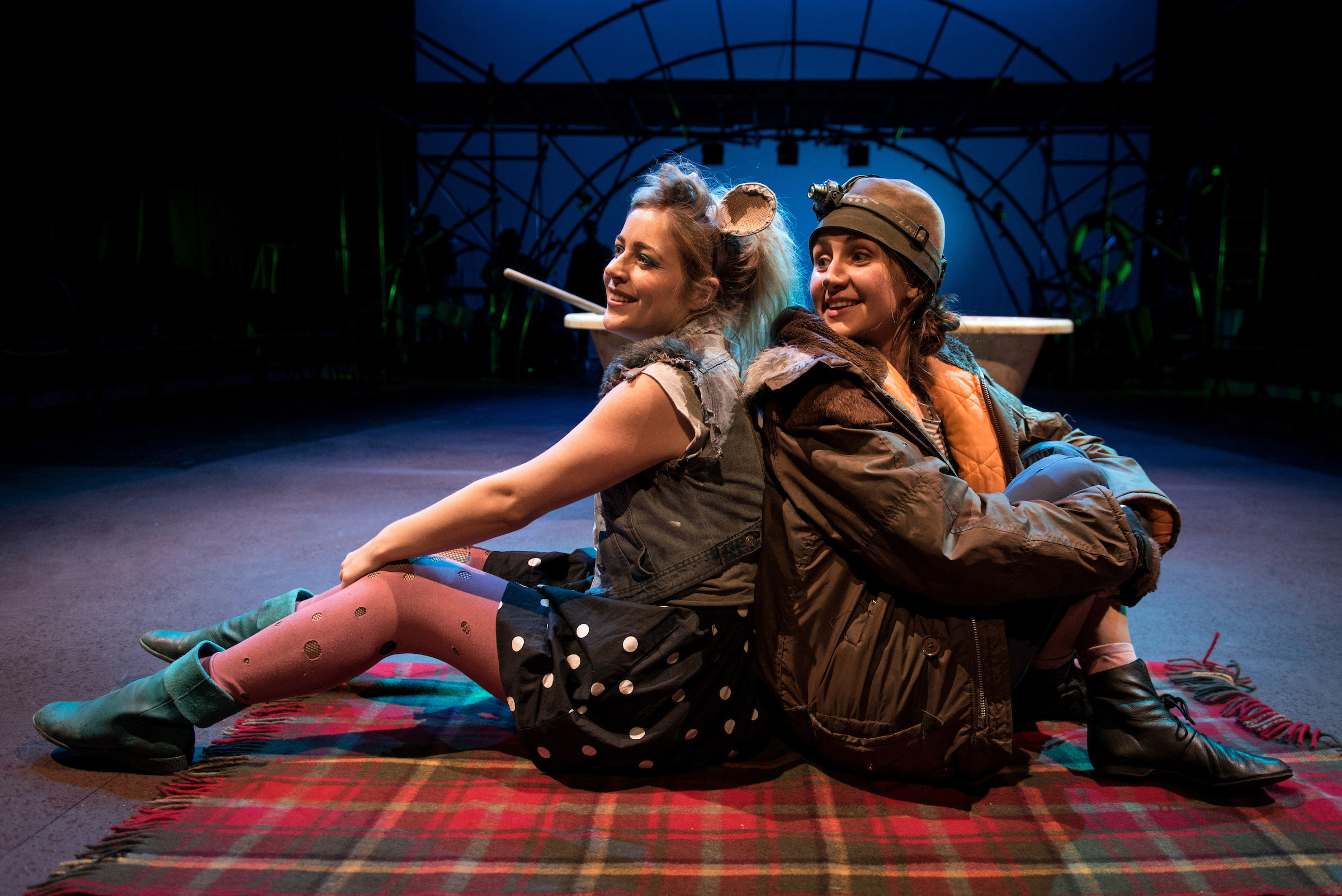 1 The Wind in the Willows - Kerry Lovell as Ratty and Emily Greenslade as Mole - photo by Graeme Braidwood.jpg