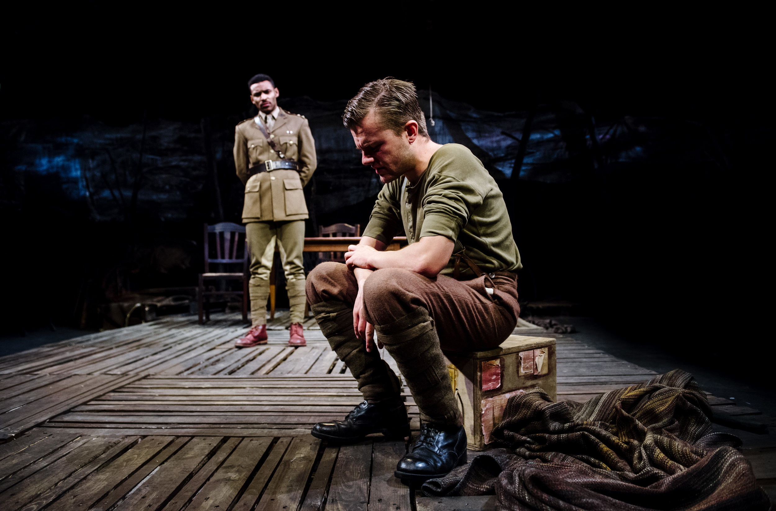 (c) Alex Brenner, no use without credit permitted, Dilated Theatre - For King and Country @ Southwark Playhouse (_DSC0859).jpg