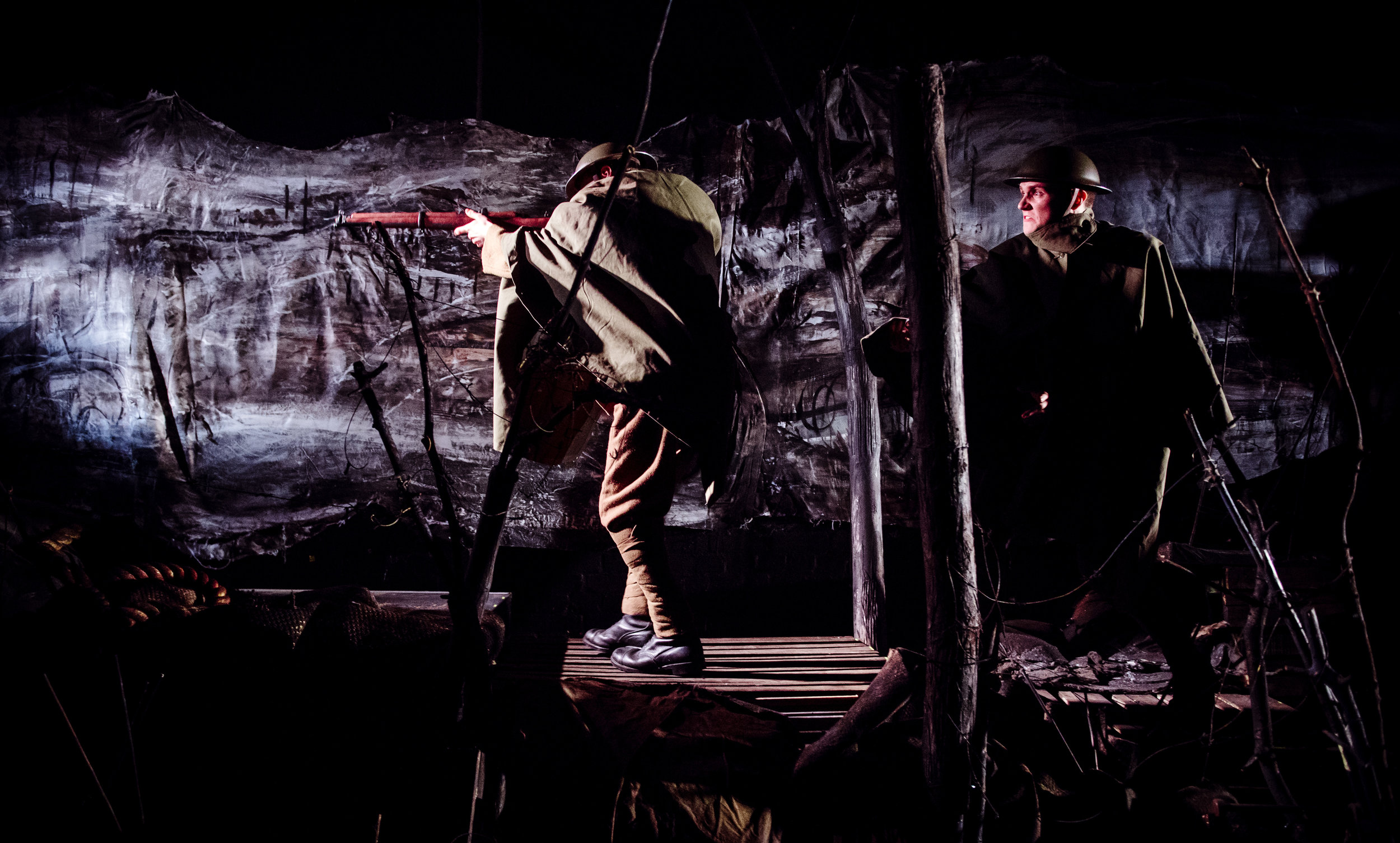 (c) Alex Brenner, no use without credit permitted, Dilated Theatre - For King and Country @ Southwark Playhouse (_DSC1124).jpg