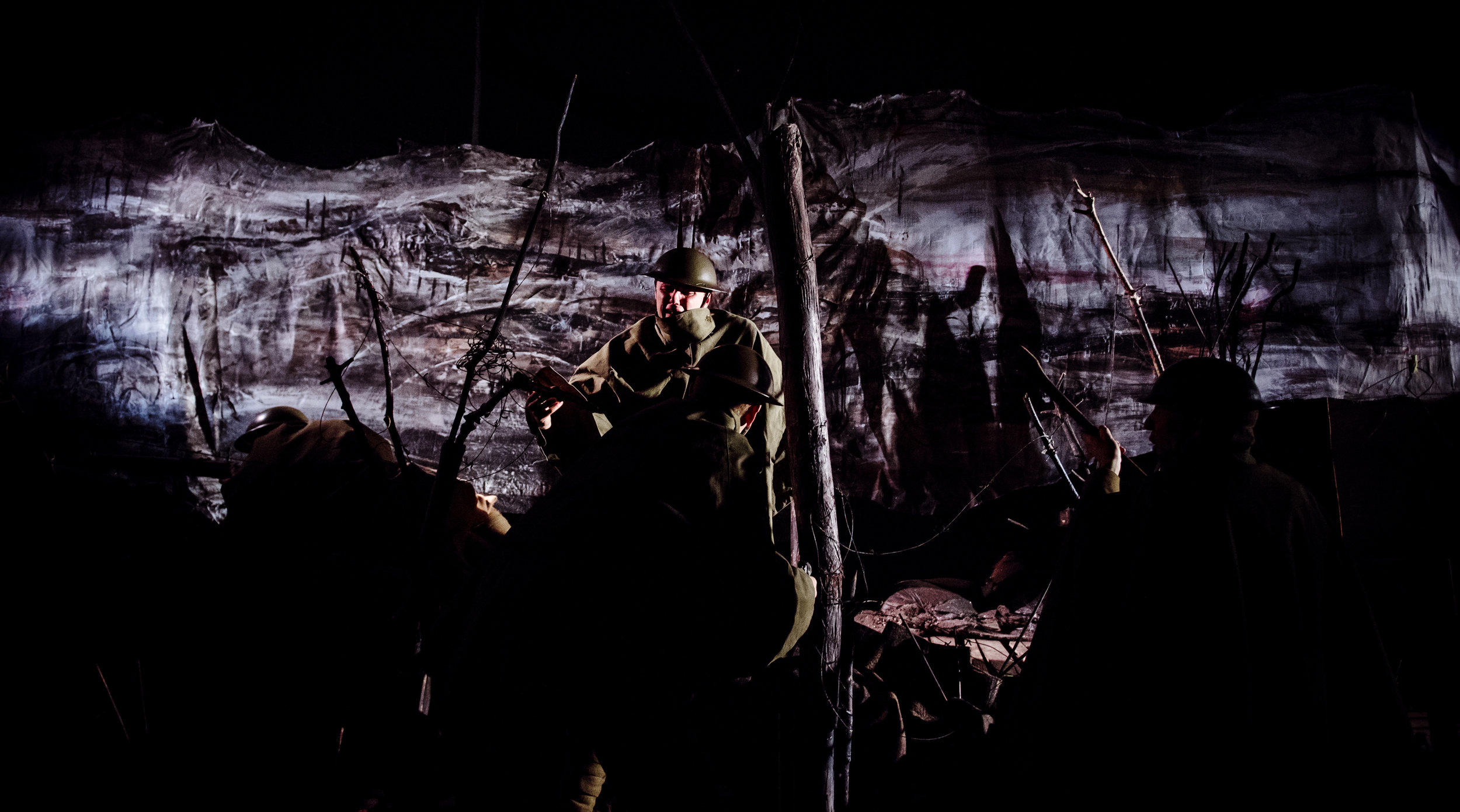 (c) Alex Brenner, no use without credit permitted, Dilated Theatre - For King and Country @ Southwark Playhouse (_DSC1159).jpg
