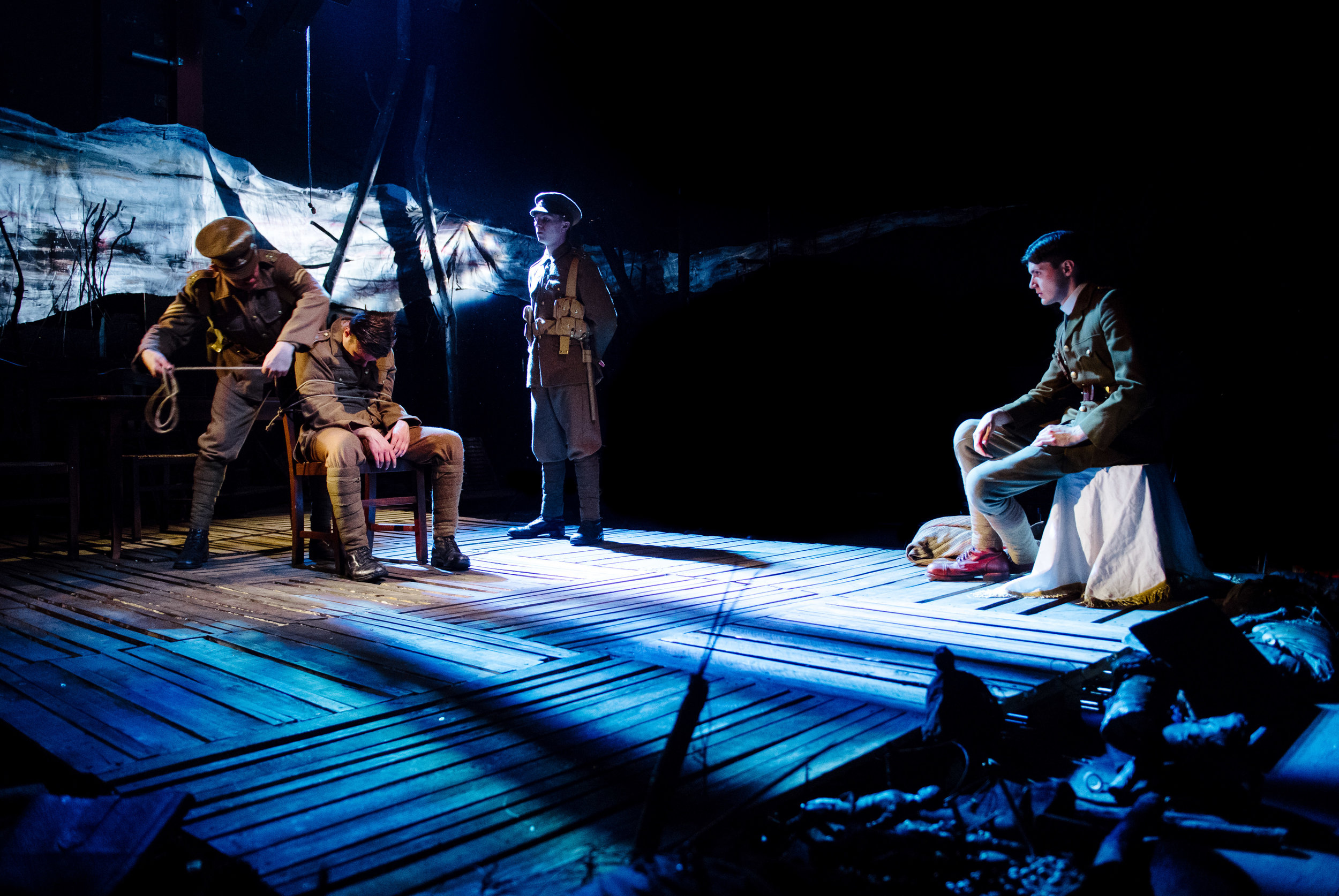 (c) Alex Brenner, no use without credit permitted, Dilated Theatre - For King and Country @ Southwark Playhouse (_DSC1245).jpg
