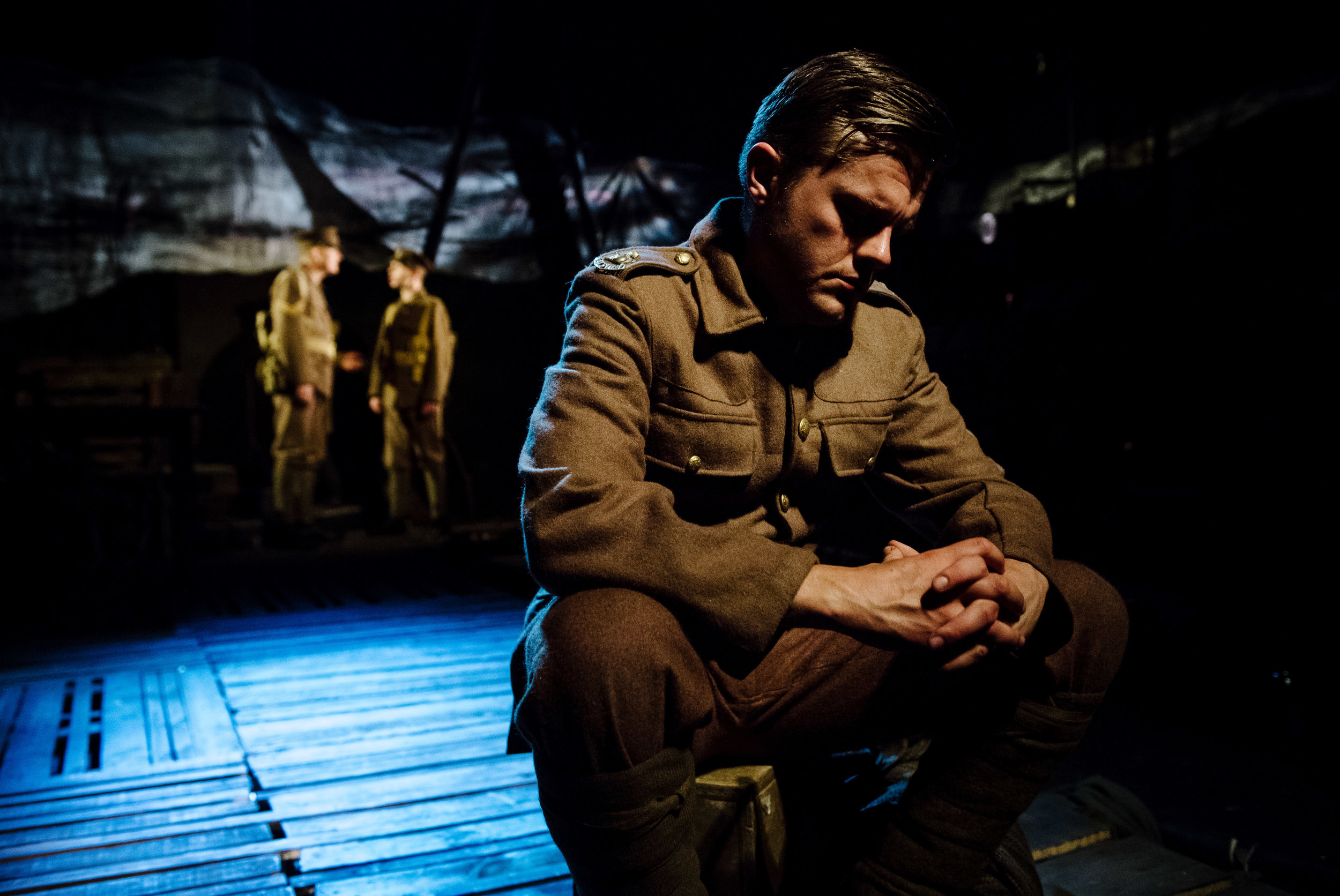(c) Alex Brenner, no use without credit permitted, Dilated Theatre - For King and Country @ Southwark Playhouse (_DSC1309).jpg