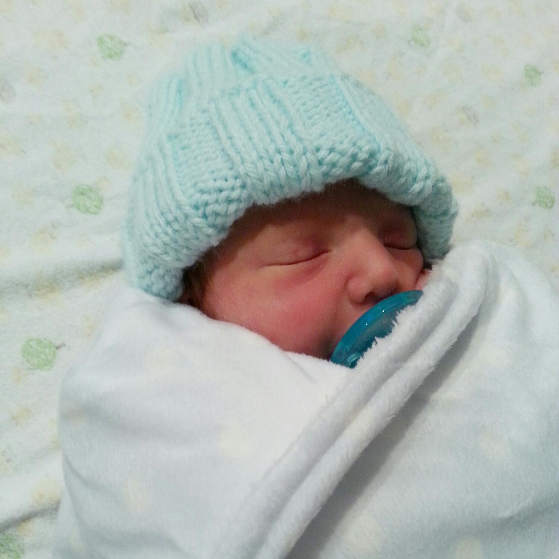 Hello Tiny! (Obligatory proud mom pic)