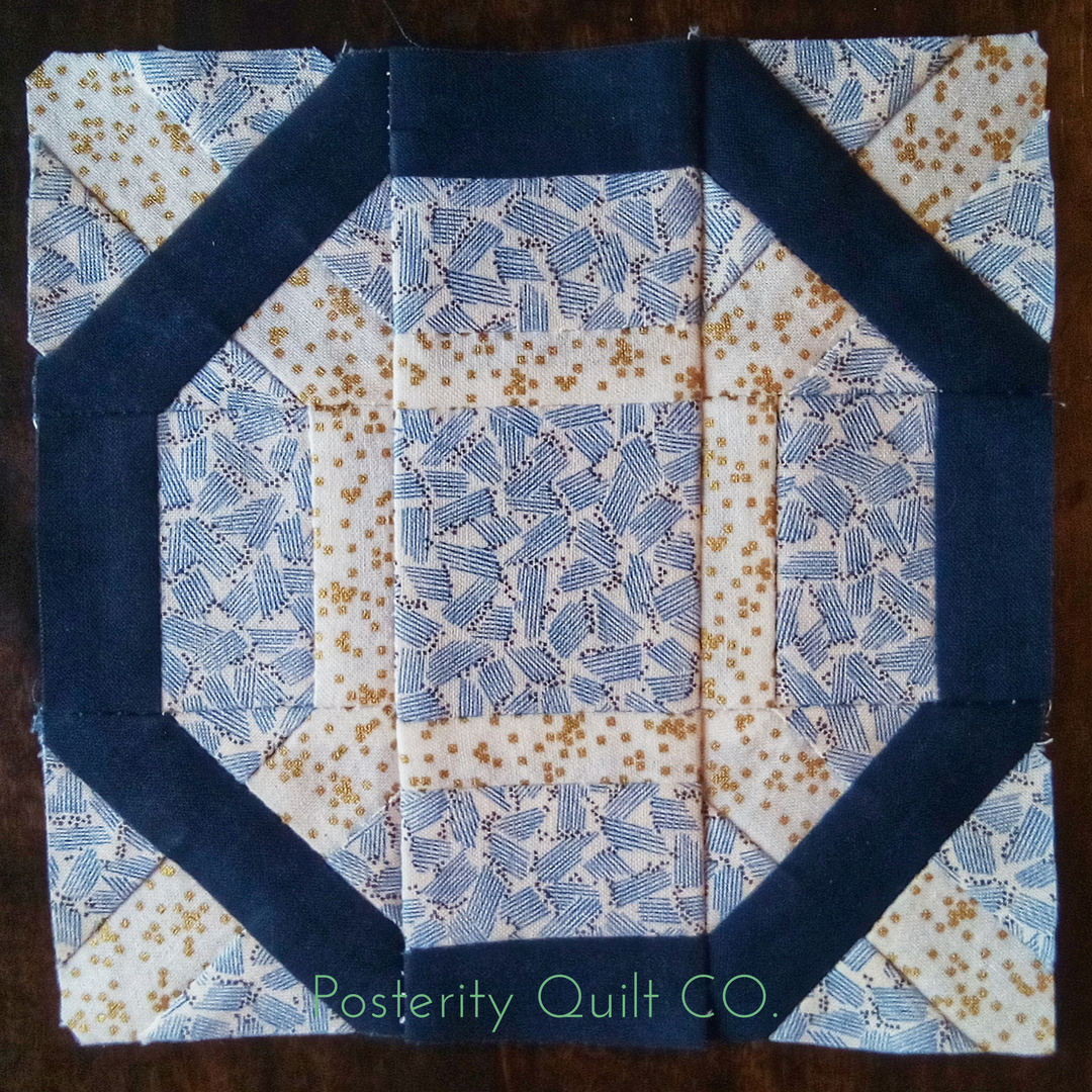 The Tirzah block can be found on page 86 of the  1930's Farmer's Wife Sampler  (page 255 for template instructions.)