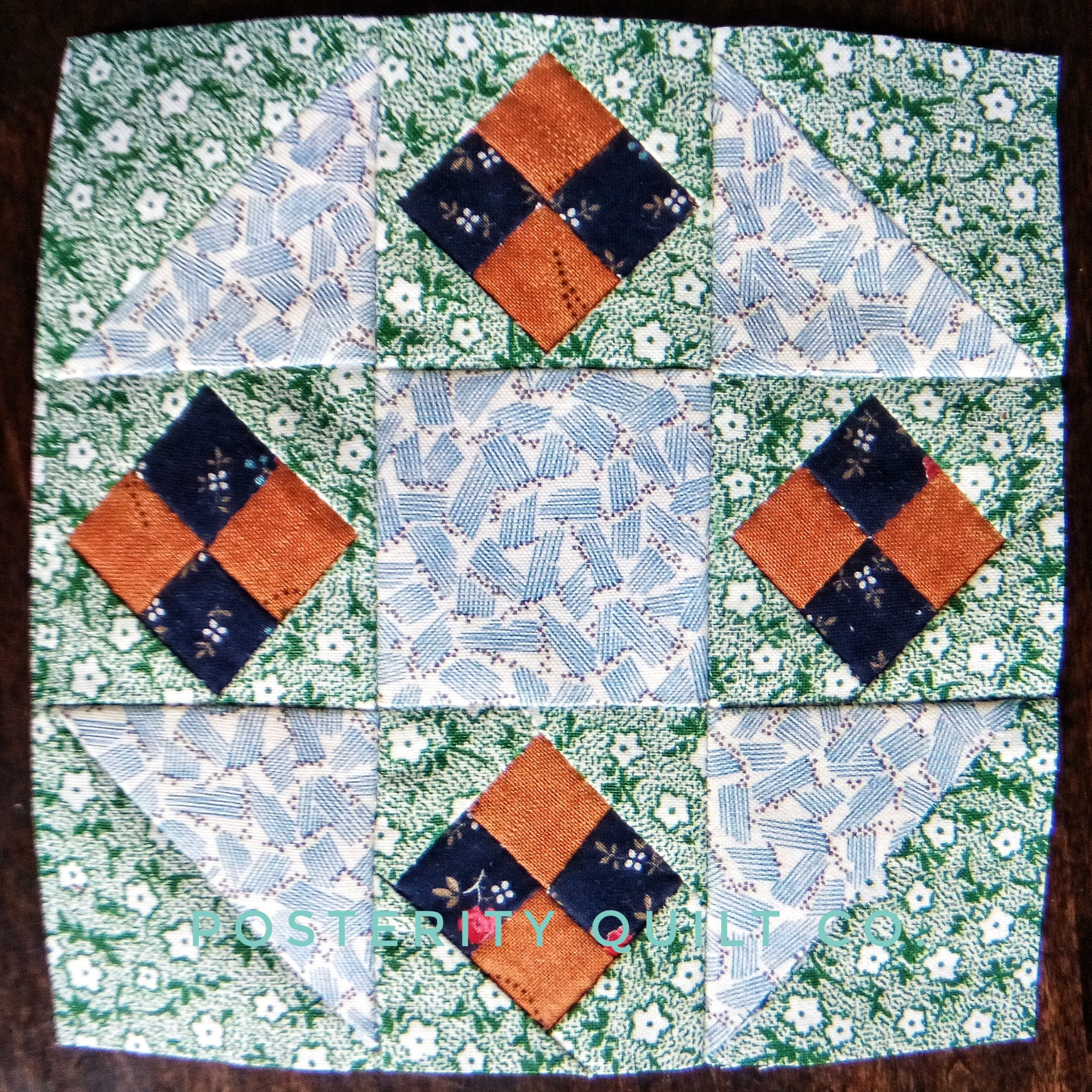 The Lucy block can be found on page 75 of the  1930's Farmer's Wife Sampler  (page 212 for template instructions.)