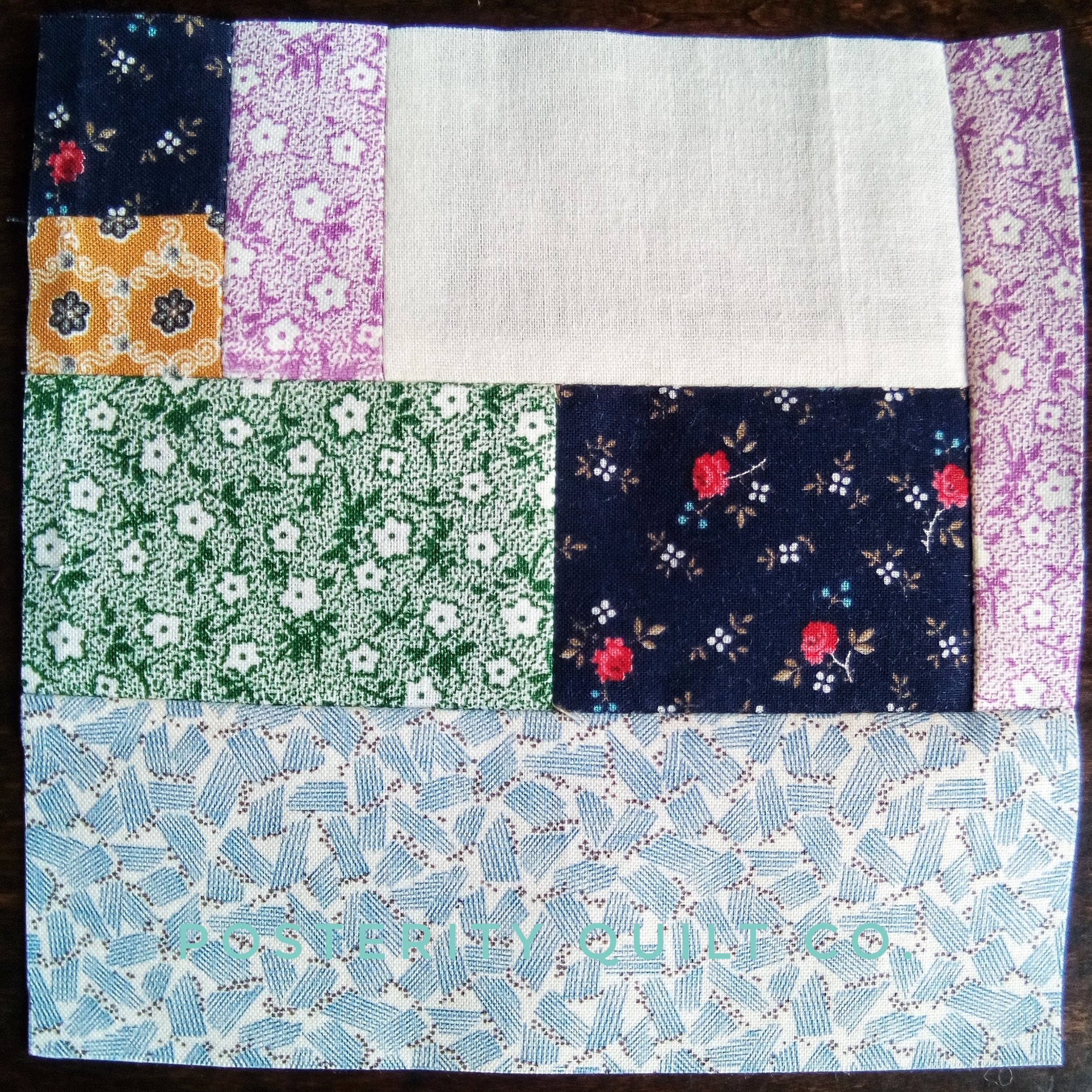 The Becky block can be found on page 45 of the  1930's Farmer's Wife Sampler  (page 171 for template instructions.)