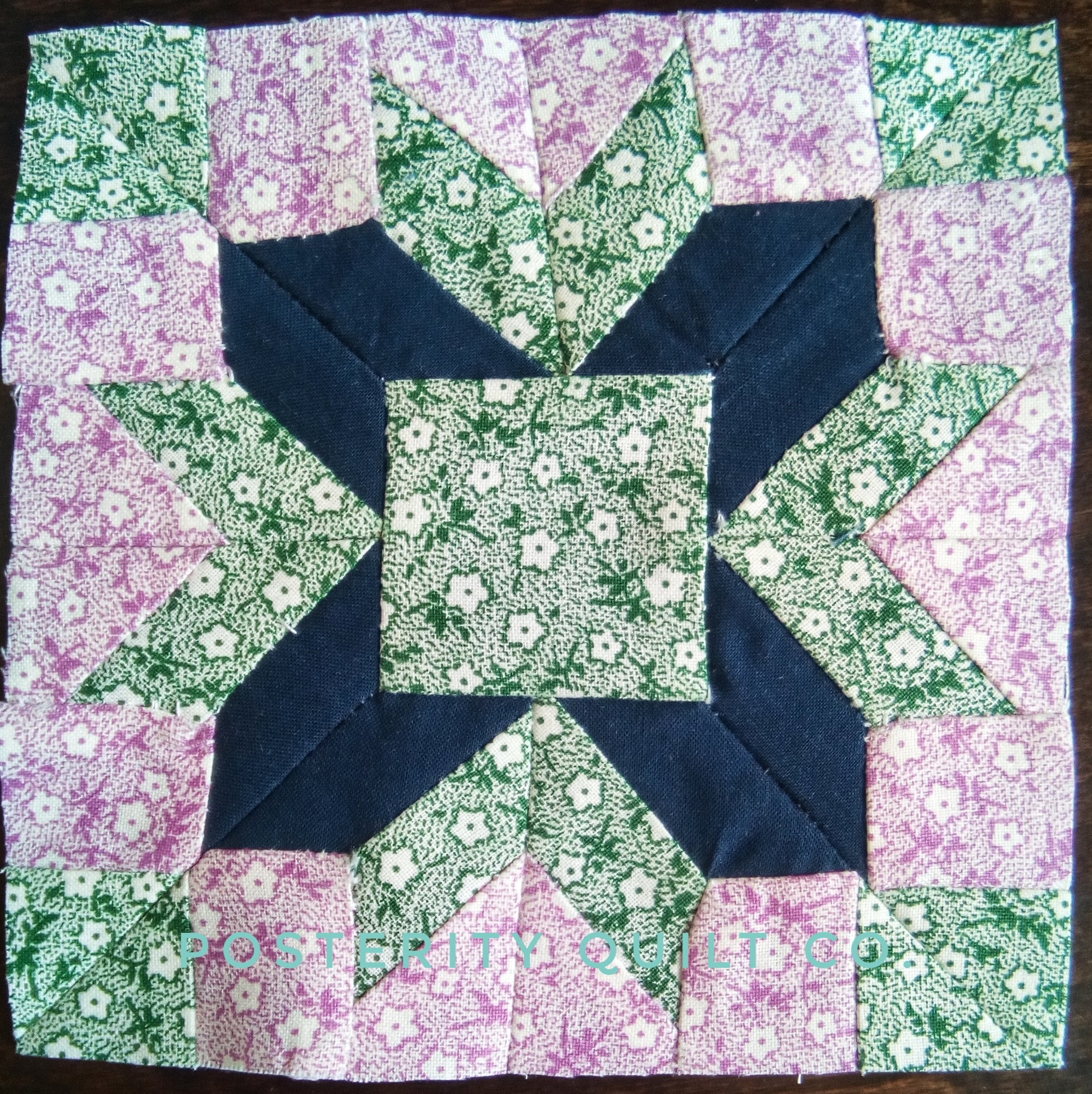 The Mrs. Fay block can be found on page 124 of the  1930's Farmer's Wife Sampler  (page 227 for template instructions.)