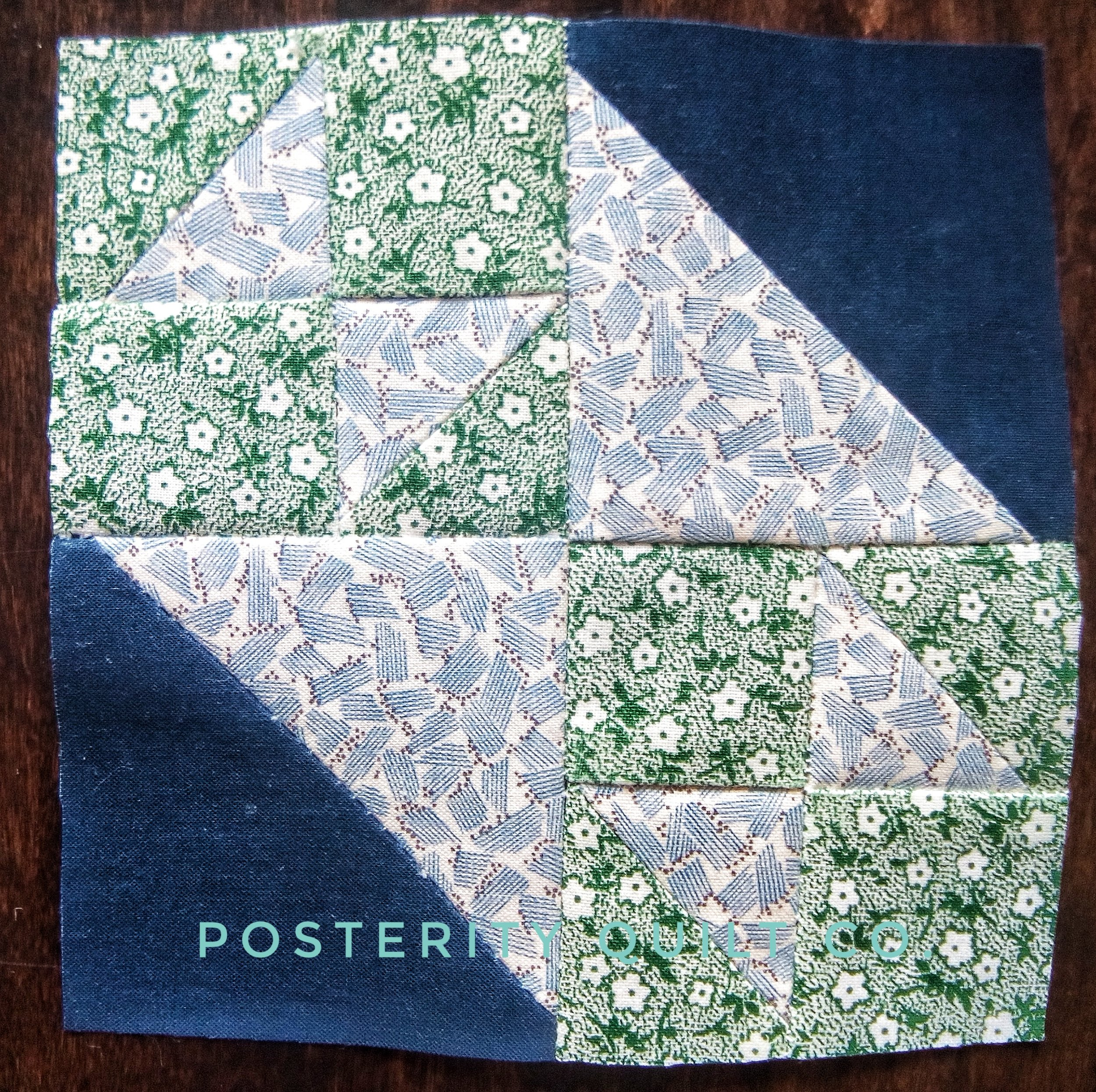The Betty block can be found on page 100 of the  1930's Farmer's Wife Sampler  (page 173 for template instructions.)