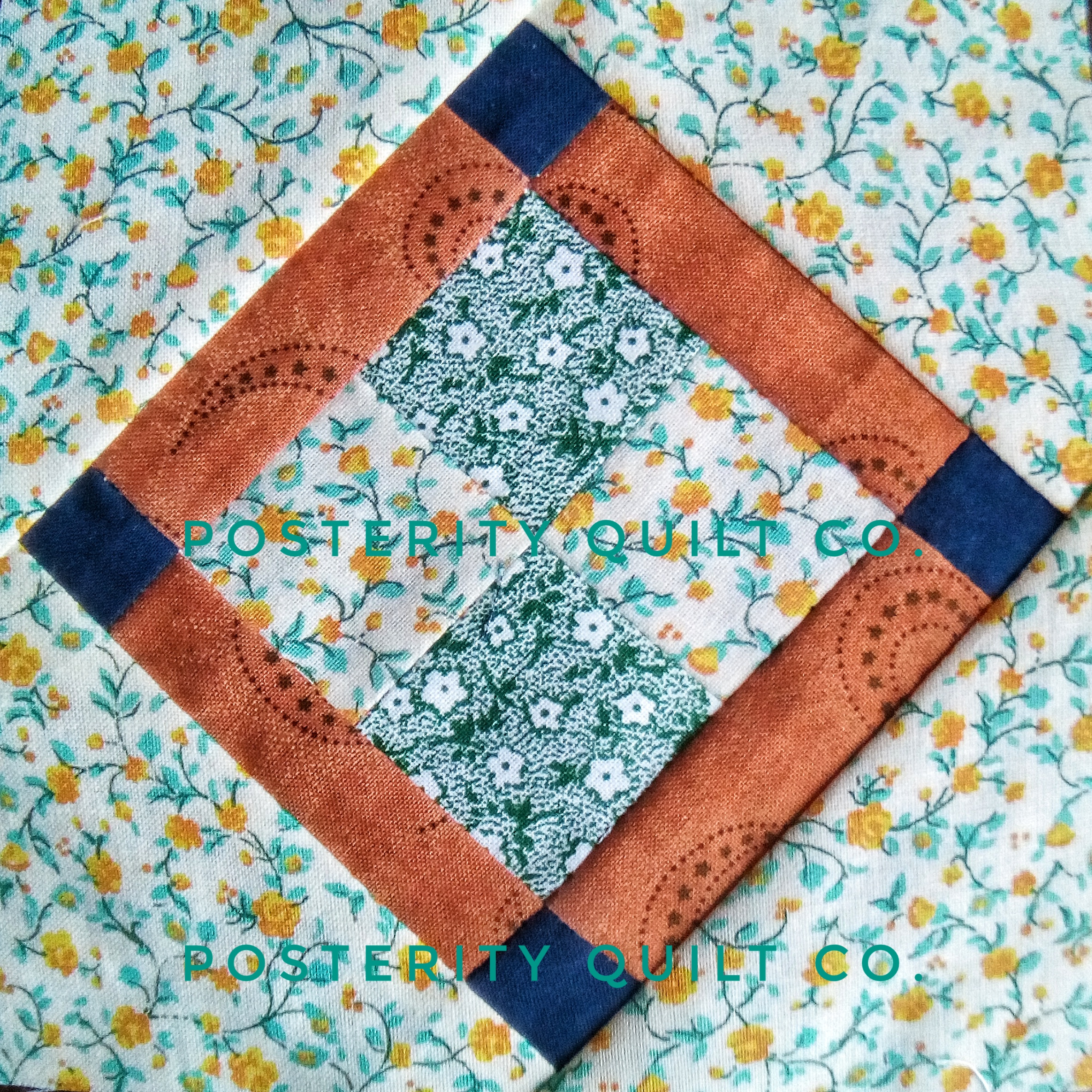 The Lola block can be found on page 15 of the  1930's Farmer's Wife Sampler  (page 211 for template instructions.)
