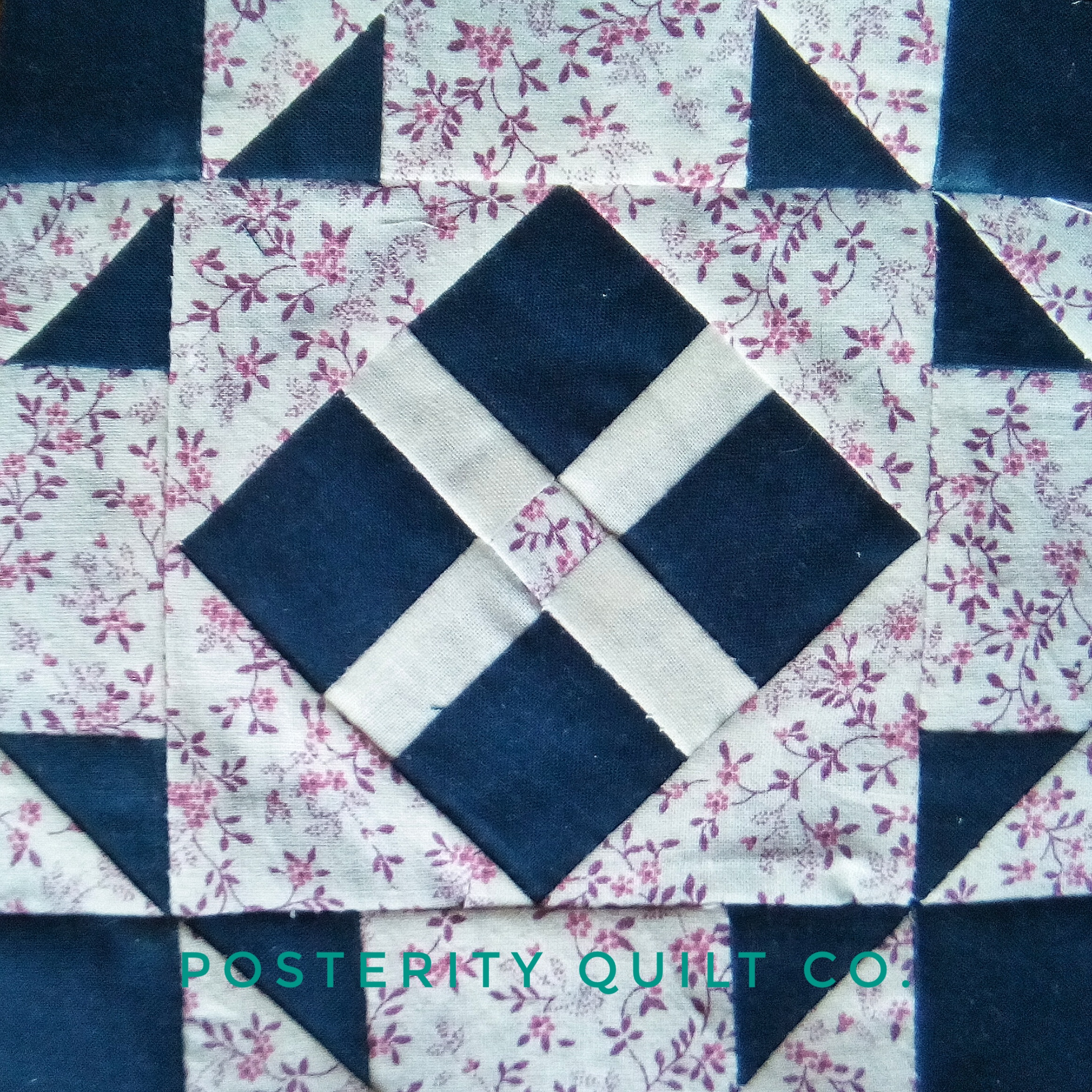 The Autumn block can be found on page 133 of the  1930's Farmer's Wife Sampler  (page 168 for template instructions.)