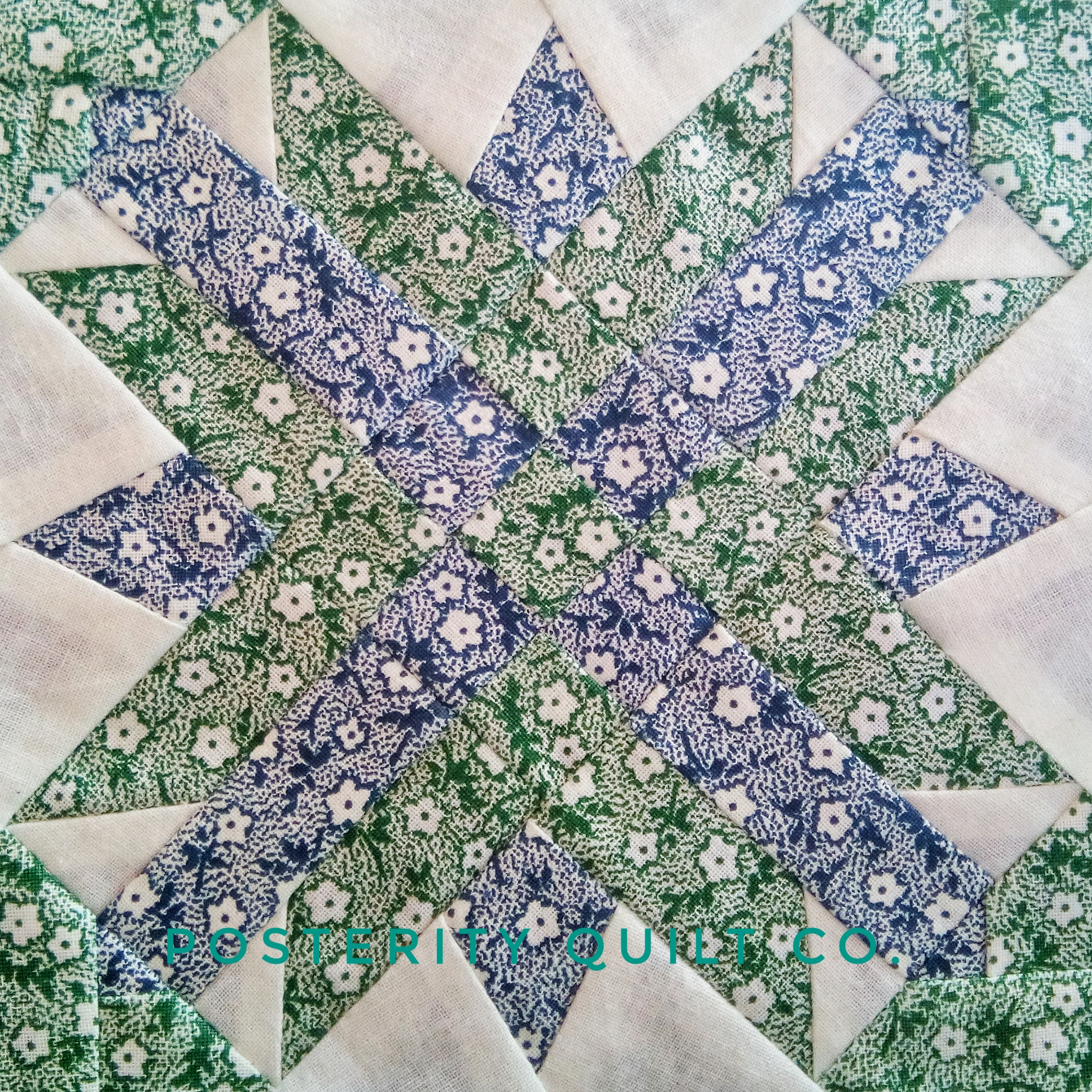 The Alice block can be found on page 85 of the  1930's Farmer's Wife Sampler  (page 162 for template instructions.)