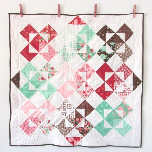 Ms. H's Baby Quilt - Windmill Quilt