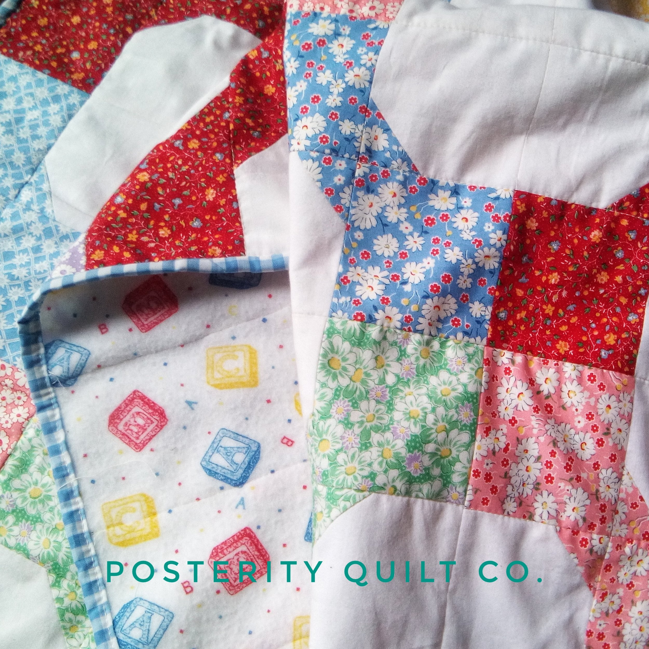 Baby Bow Tie Quilt