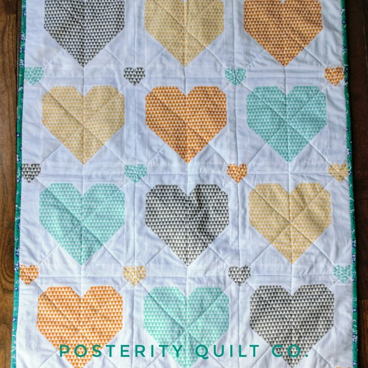 I ♥You Baby Quilt