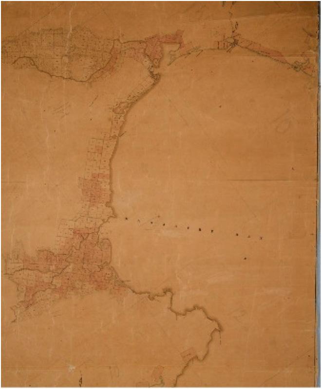 New Zealand Company Massacre Bay Map