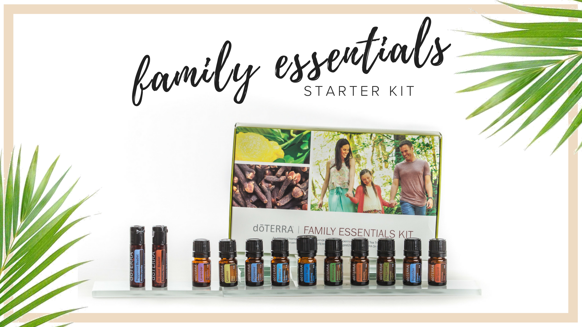 FAMILY ESSENTIALS KIt - $150  This kit contains 10 of the most foundational oils we have in the mini 5 ml (approximately 85 drops) size. i truly feel that no home should be without these staples for natural wellness.You will also receive e eryone's favorite peppermint and onguard beadlets, which are little bursts of pure essential oil encapsulated in coconut gelatin to freshen breath and boost your immune system.  If you'd like these foundational oils, but want to upgrade to the larger size and a diffuser, then the HOME ESSENTIALS KIT may be the right fit for you. With that kit, you'll get 3x the oils plus a diffuser, for less than 2x the price.  Retail Cost $200. Wholesale Kit Price $150. $90 in Savings.  all new memberships include Exclusive aila love welcome gifts, a personal consultation with maile, ongoing education opportunities & a support community.