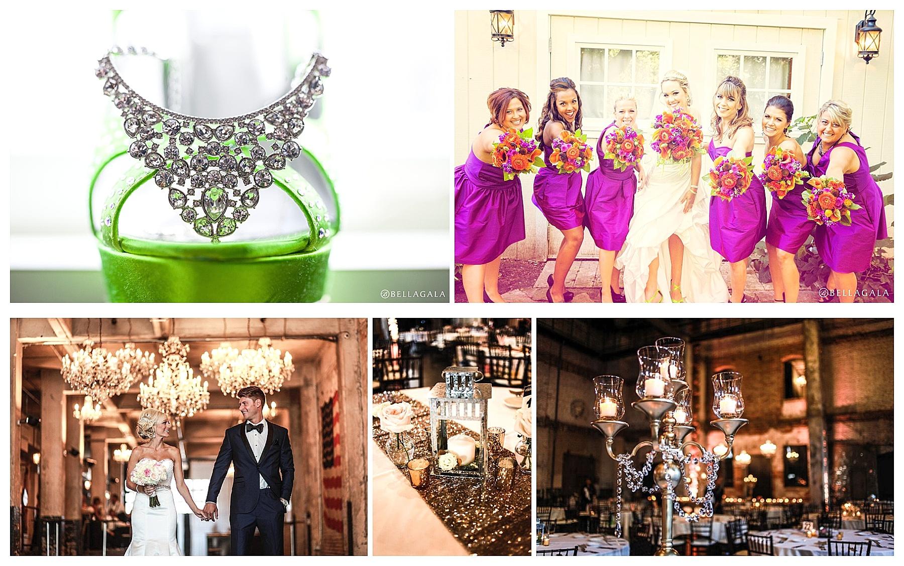 Bellagala Photography (top row), Laura Ann Photography (bottom row)