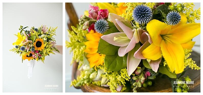 July bouquet ,Jessica Wonders Events, Jeannine Marie Photography, Minnesota