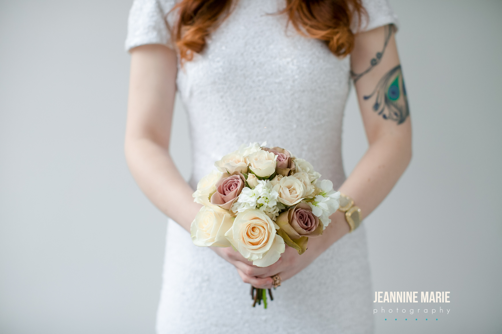 White, ivory, and mauve small bouquet  Jessica Wonders Events, Minneapolis, MN