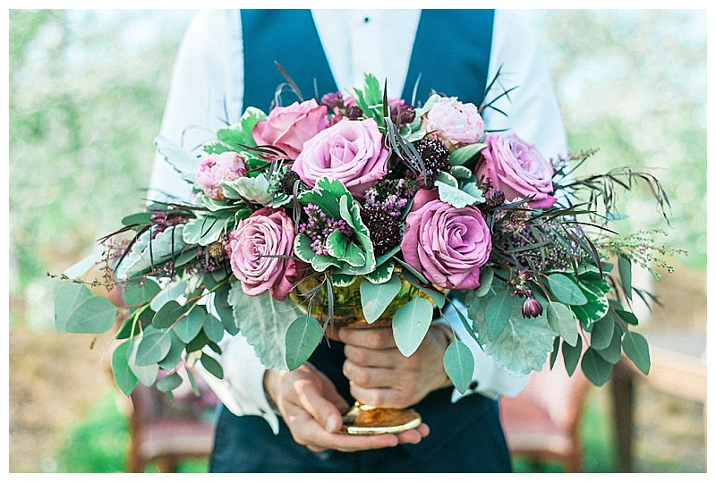 Pink and greenery wedding flowers  Jessica Wonders Events, Minneapolis, MN
