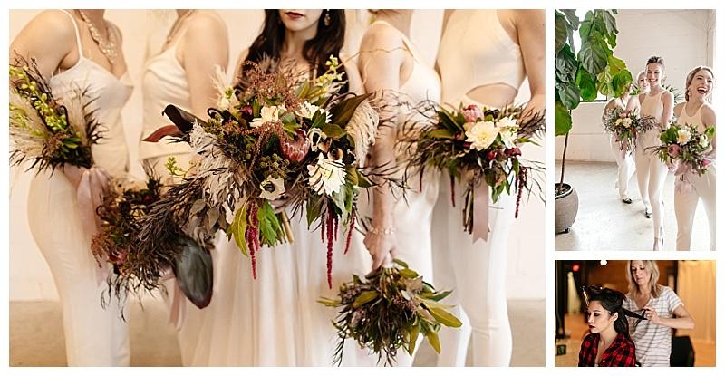 Jessica Wonders Events Whit Jumpsuit Bridesmaids
