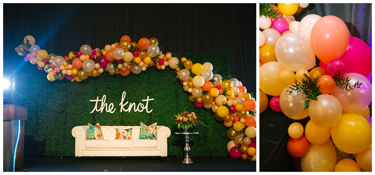 Corporate and Branding Event Inspiration, The Knot Pro Events, Jessica Wonders Events, Minneapolis, MN, Balloon Arch